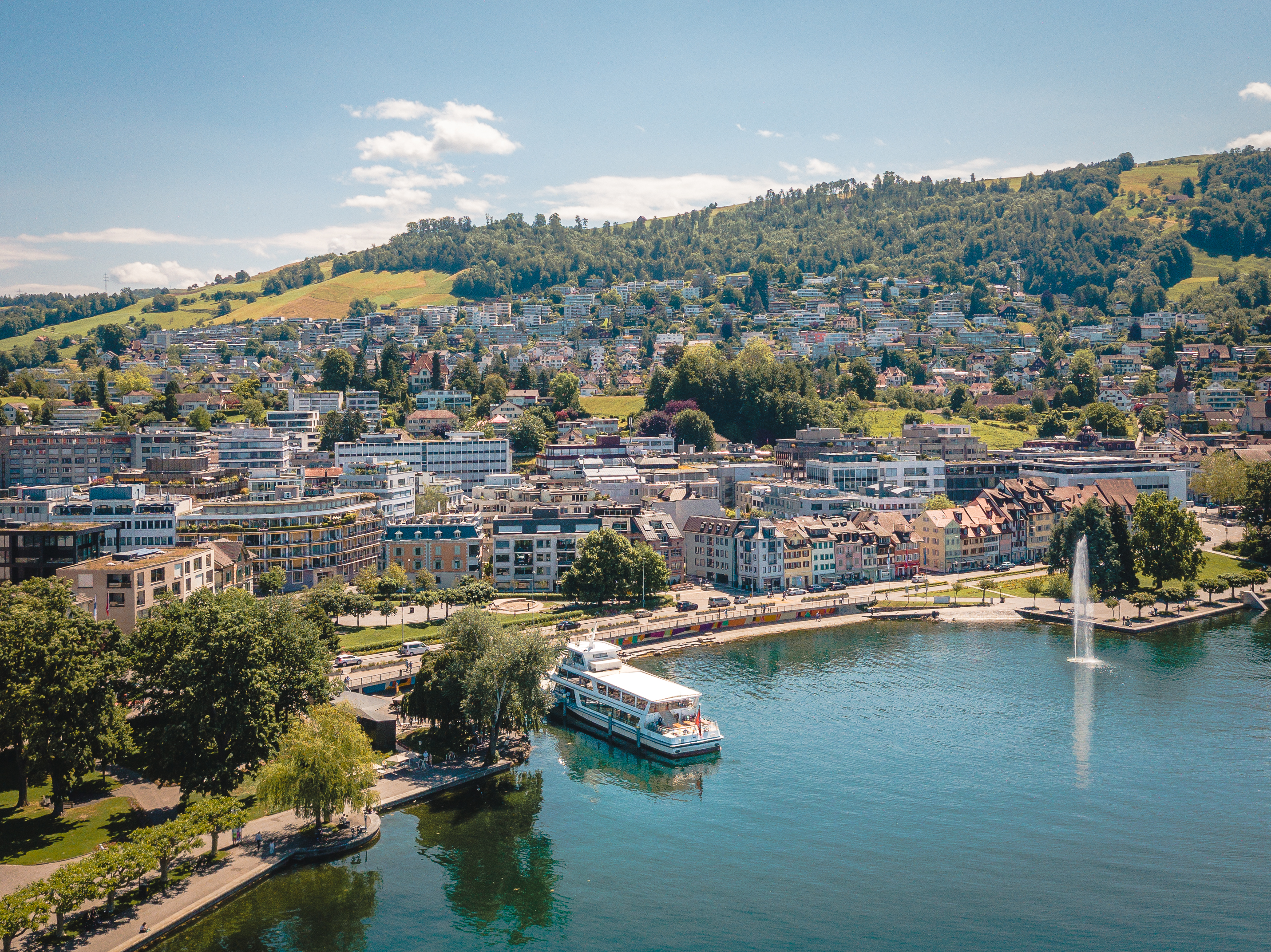 Zugersee Kanton Zug Ausflug