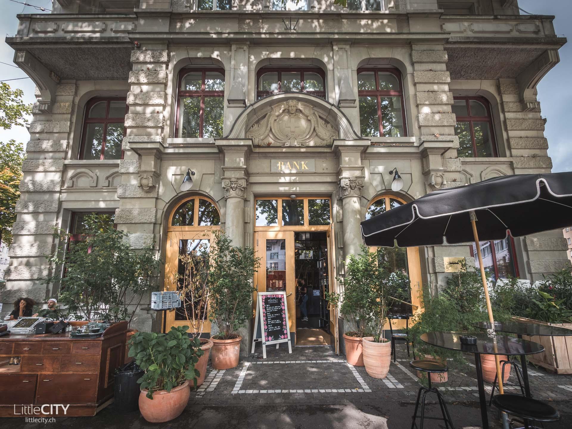 Bank Restaurant Zürich