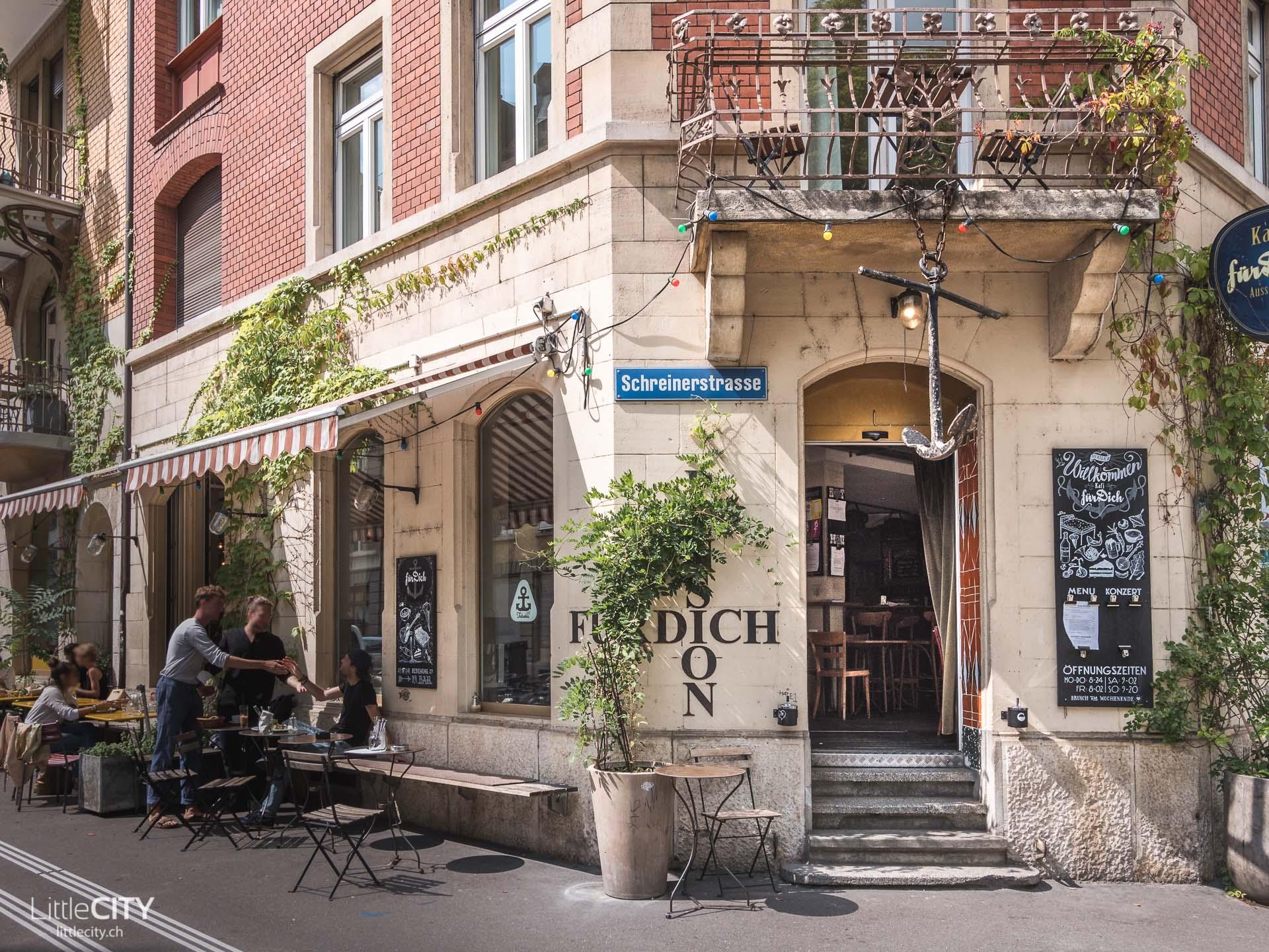 Café für dich Restaurant Tipp in Zürich