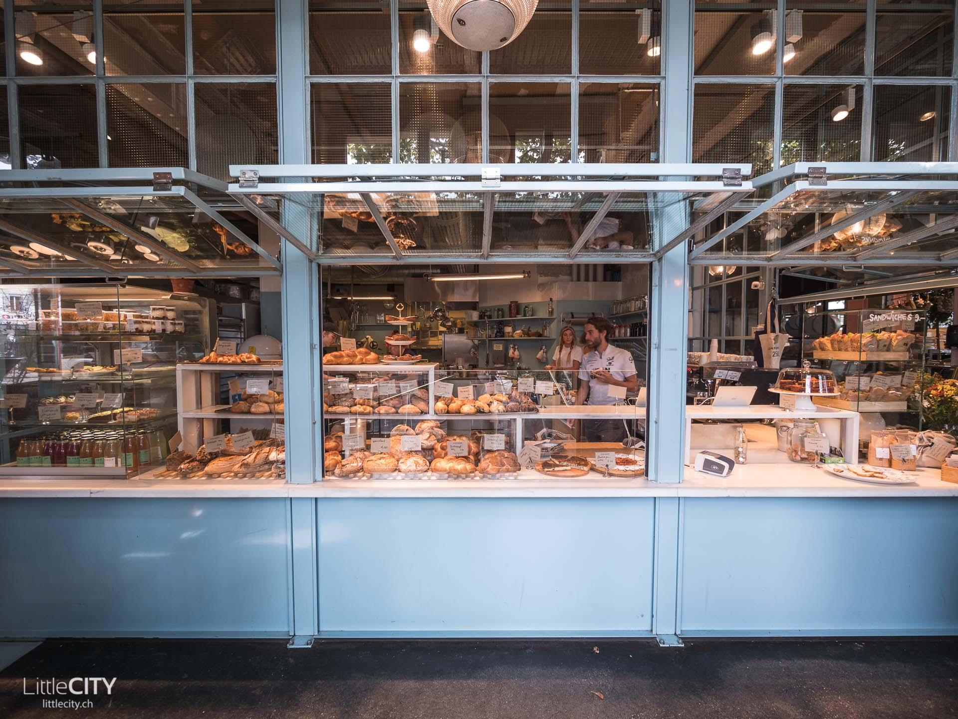 John Baker Bäckerei am Helvatiaplatz