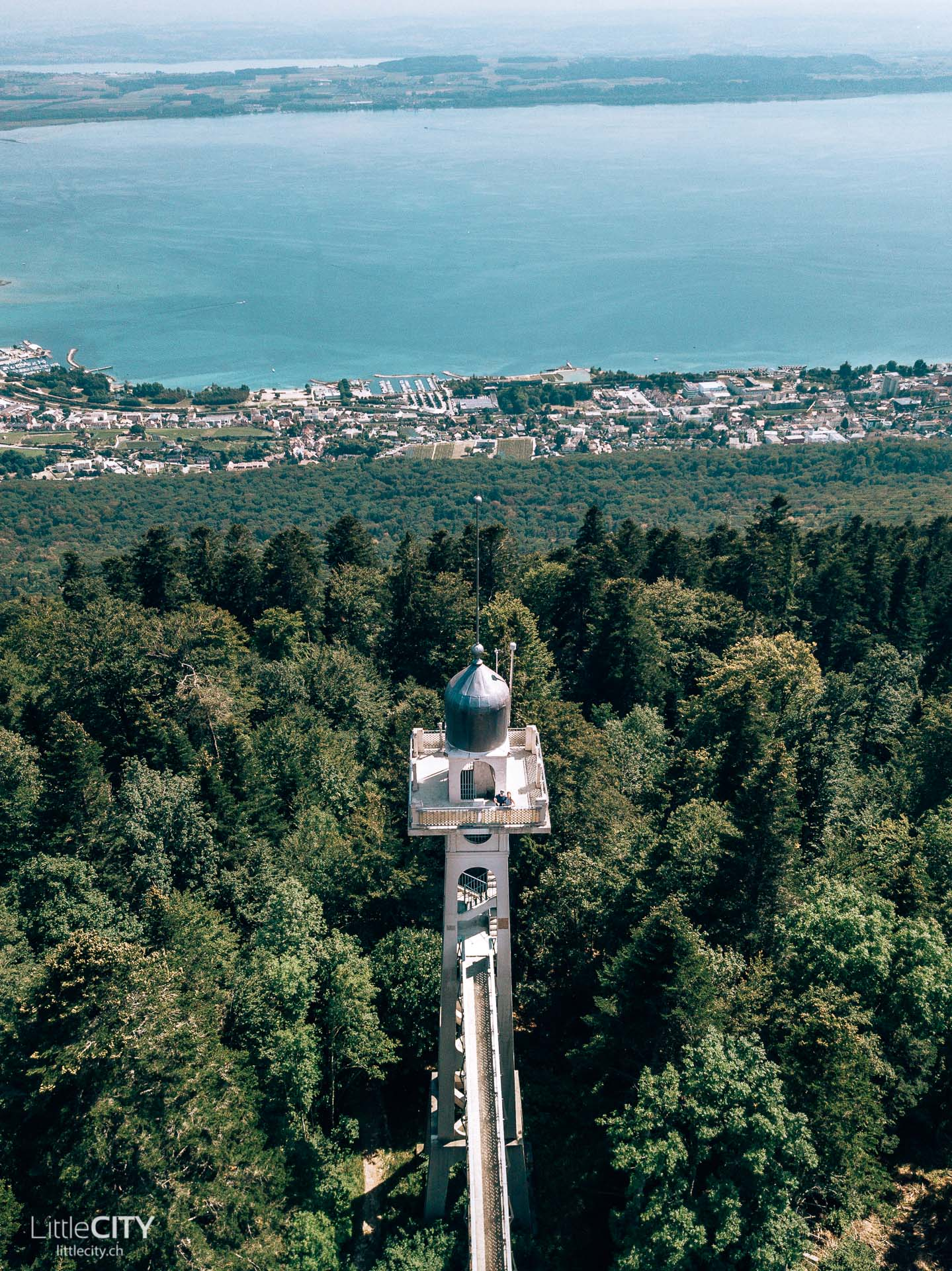Chaumont Neuchatel Aussichts Turm