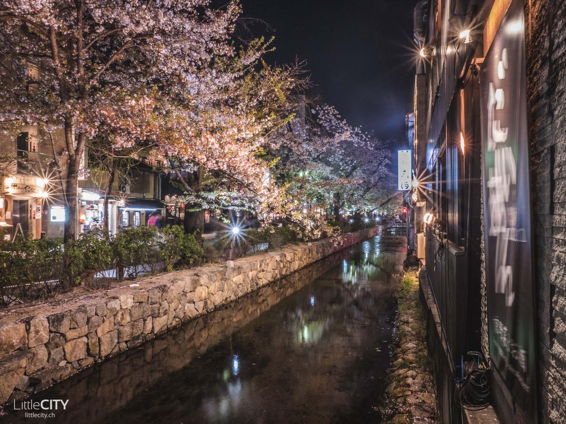 Kyoto Pontcho Area Sehenswürdigkeiten