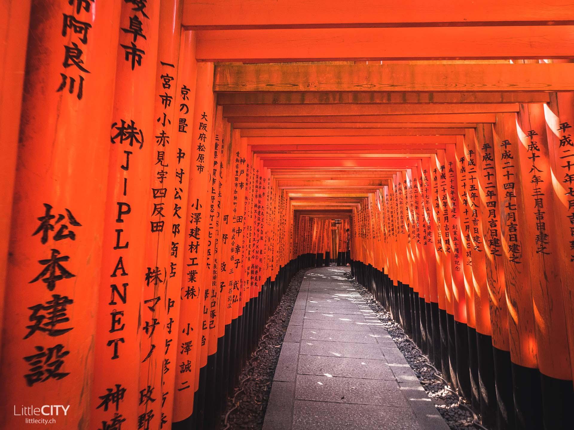 Kyoto Tori Bogen Sehenswürdigkeiten