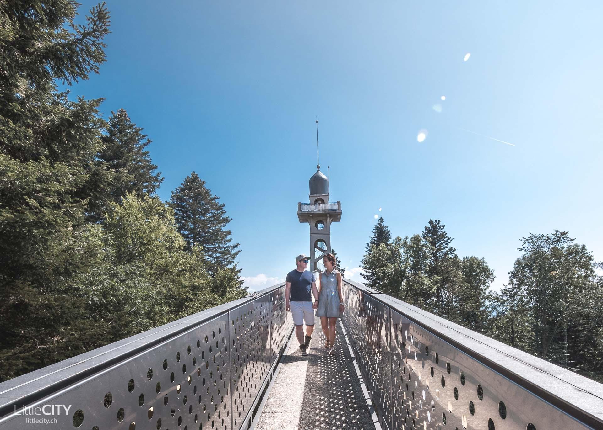 Neuenburg Chaumont Aussichtsturm