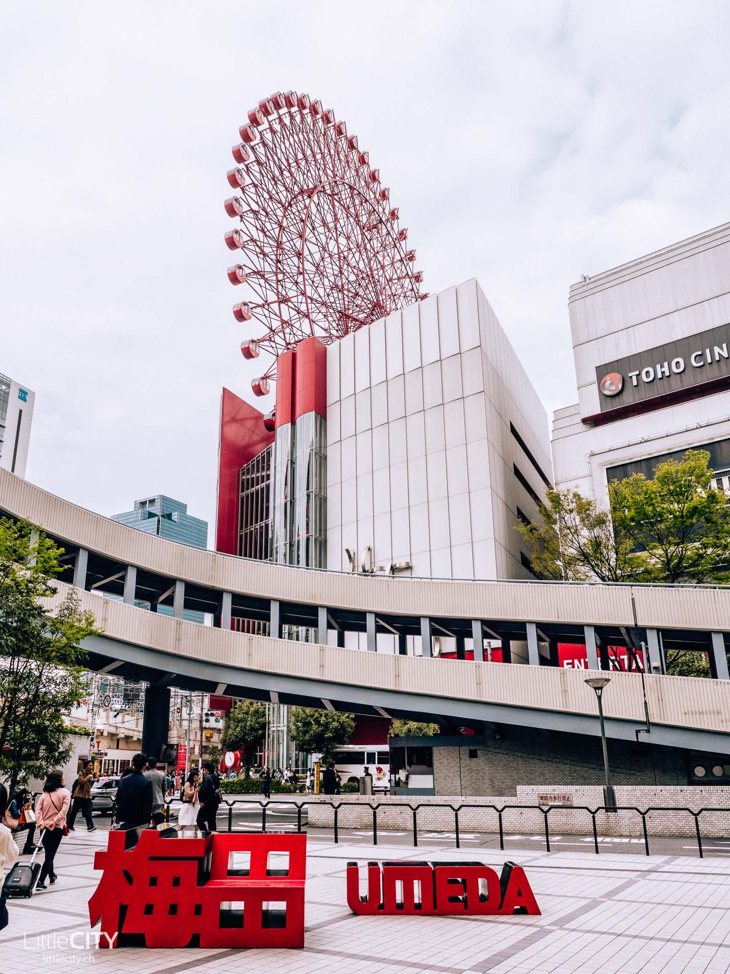 Osaka Hep Five Riesenrad Sehenswürdigkeiten
