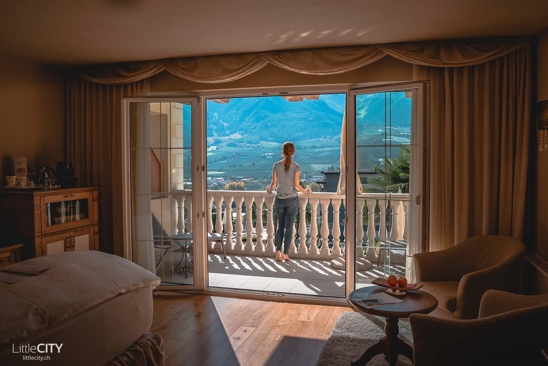 Südtirol im Herbst Preidlhof Dolce VIta Resort Zimmer