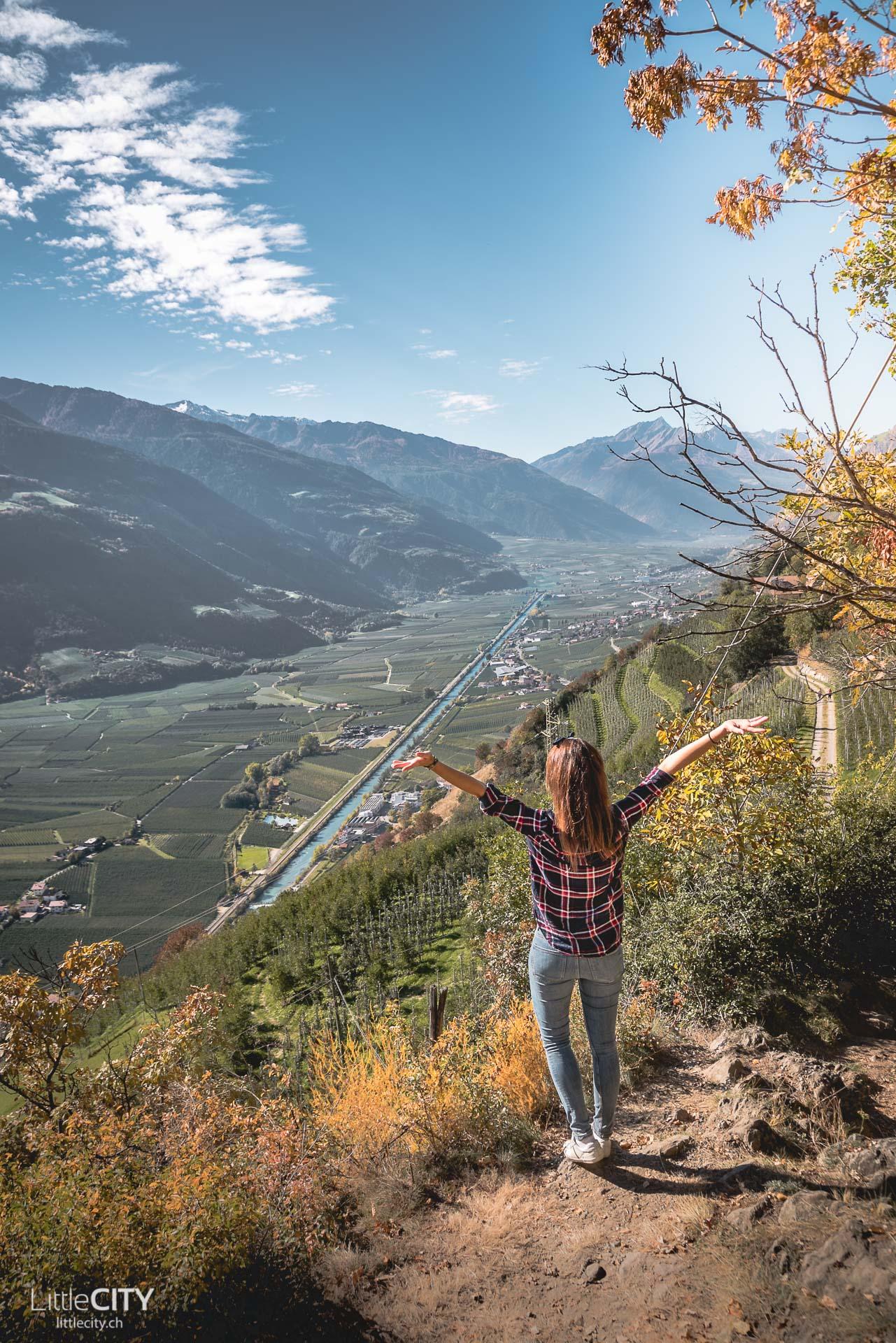 Südtirol Tscharser Waalweg Wanderung Tipp