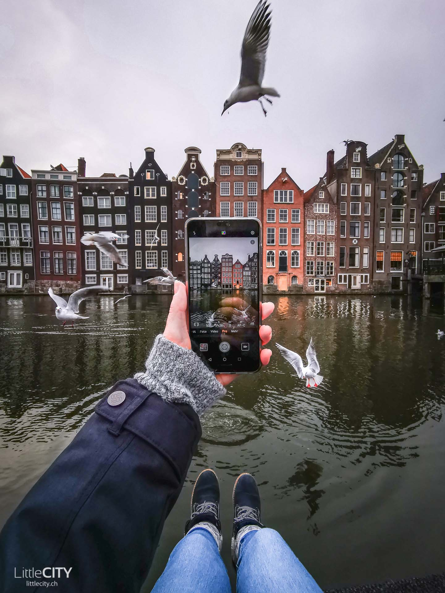 Damrak Amsterdam Insider Tipp Fotospot