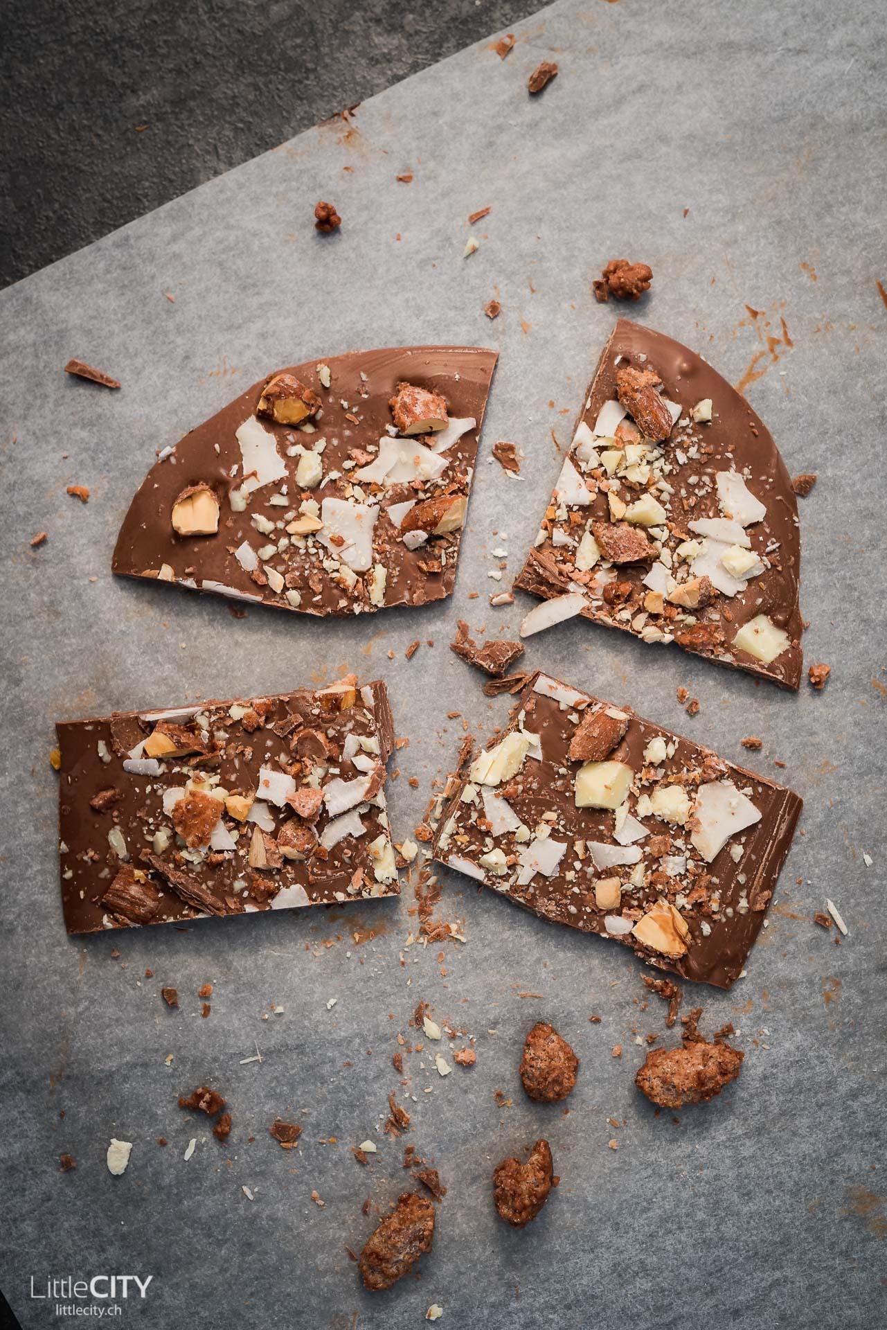 Schokoladen Tafel sellber machen