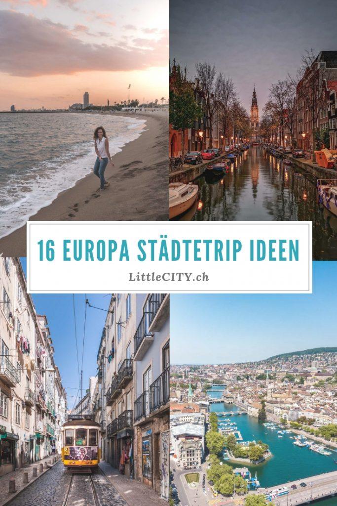 Europa Städtetrip Ideen