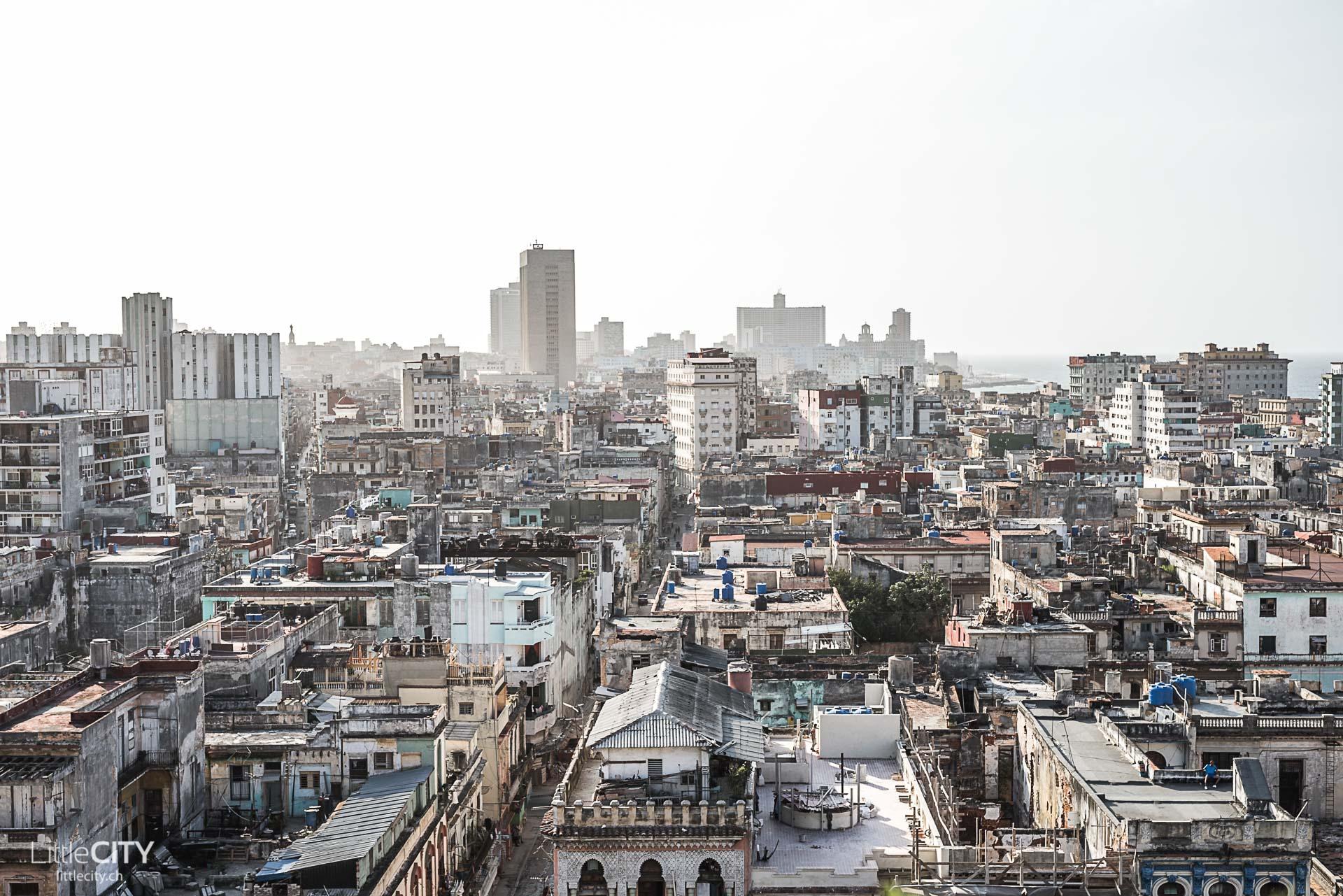 Havanna Altstadt von oben