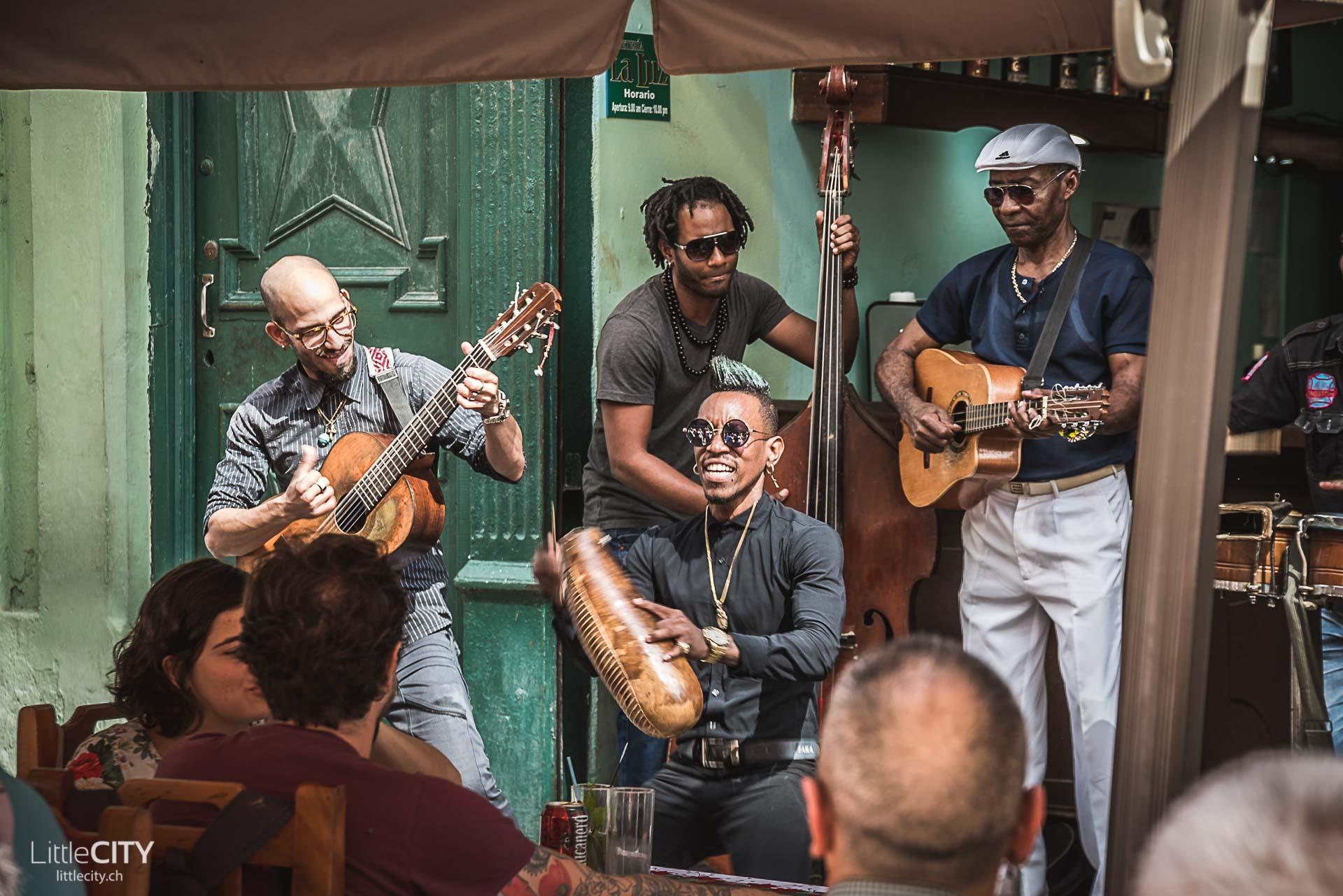 Havanna Strassen Musiker