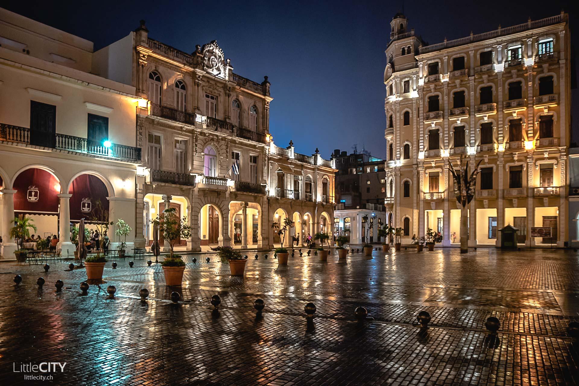 Havanna Sehenswürdigkeiten Plaza Vieja