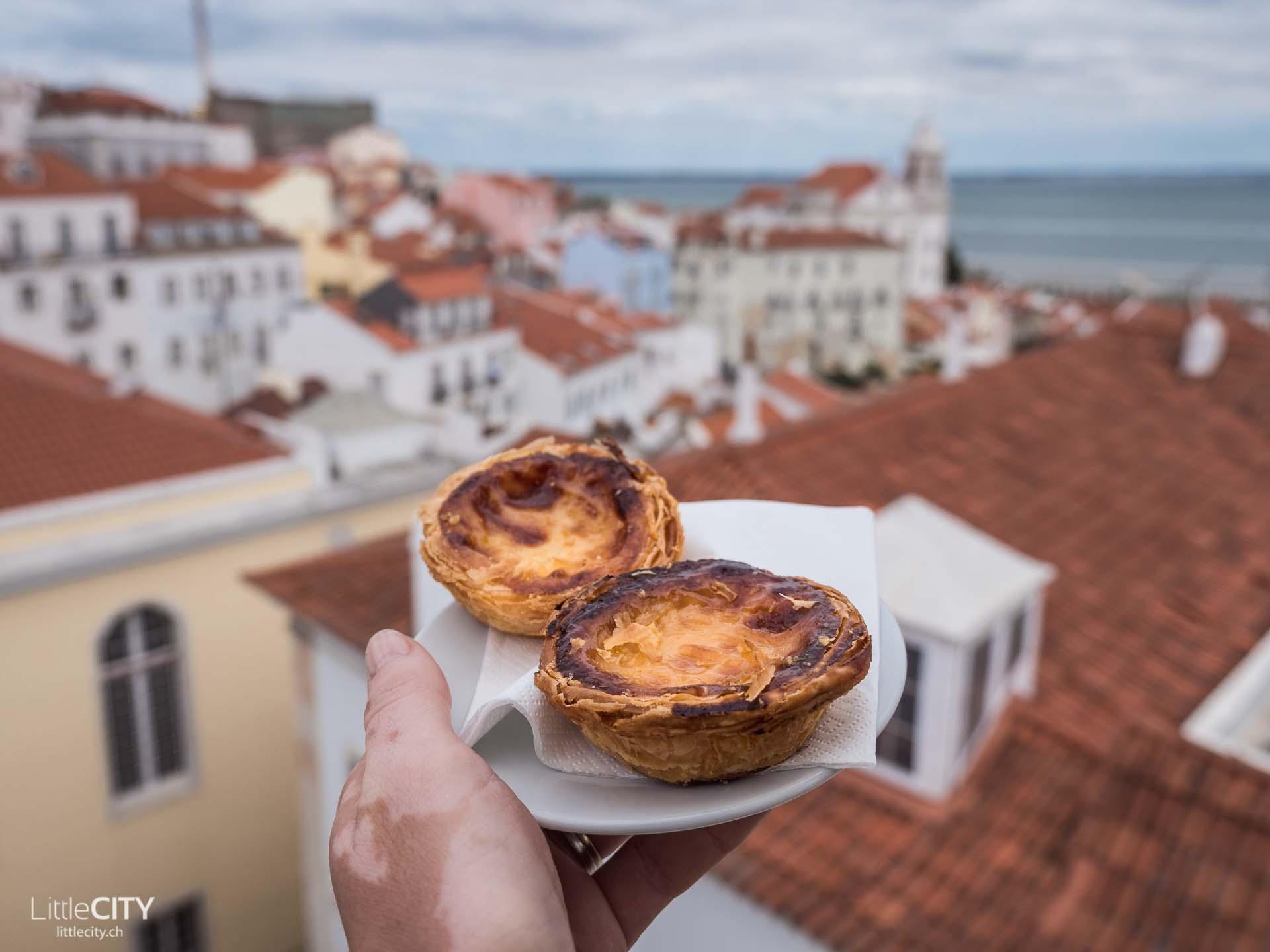 Pasteis de Nata portugiesische Spezialität