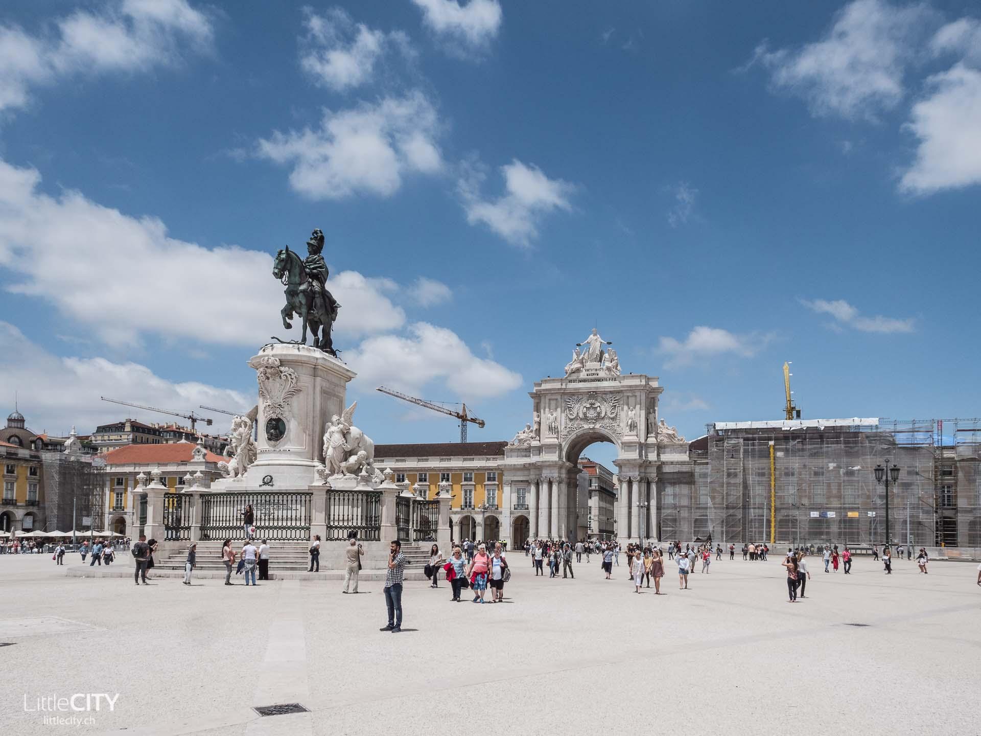 Lissabon Praca do Comércio