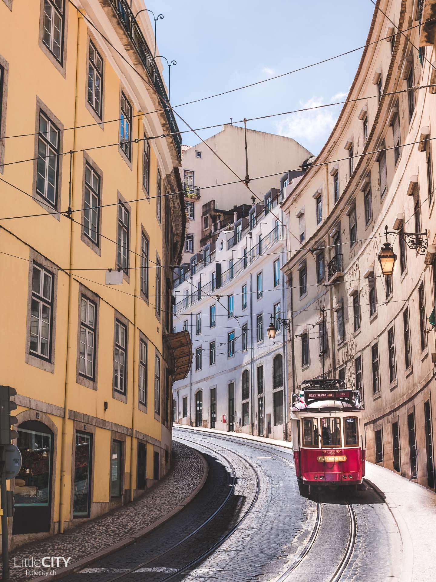 Lissabon Portugal Reisetipps Tram Nr. 28E