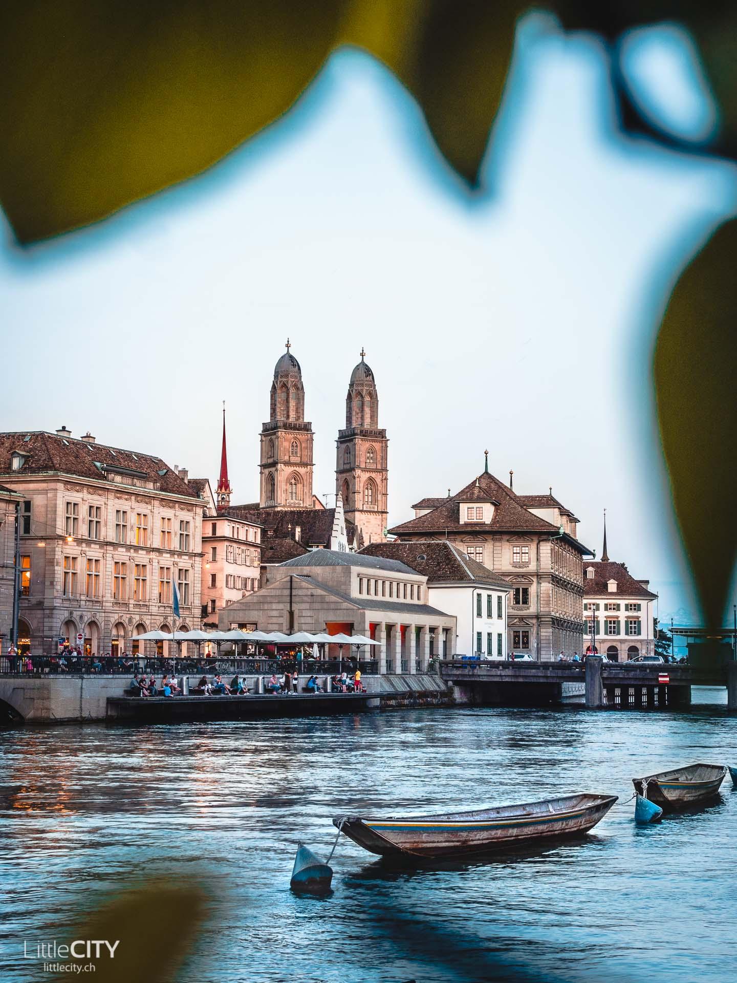 Zürich Sehenswürdigkeiten Grossmünster