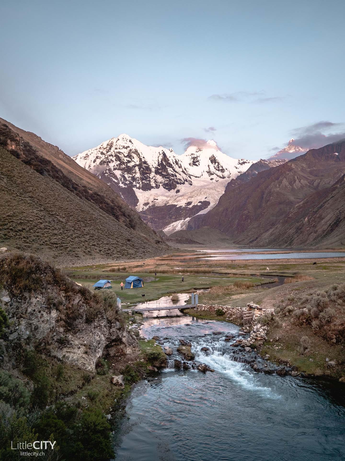 Peru Trecking Camping Laguna Jahuacocha