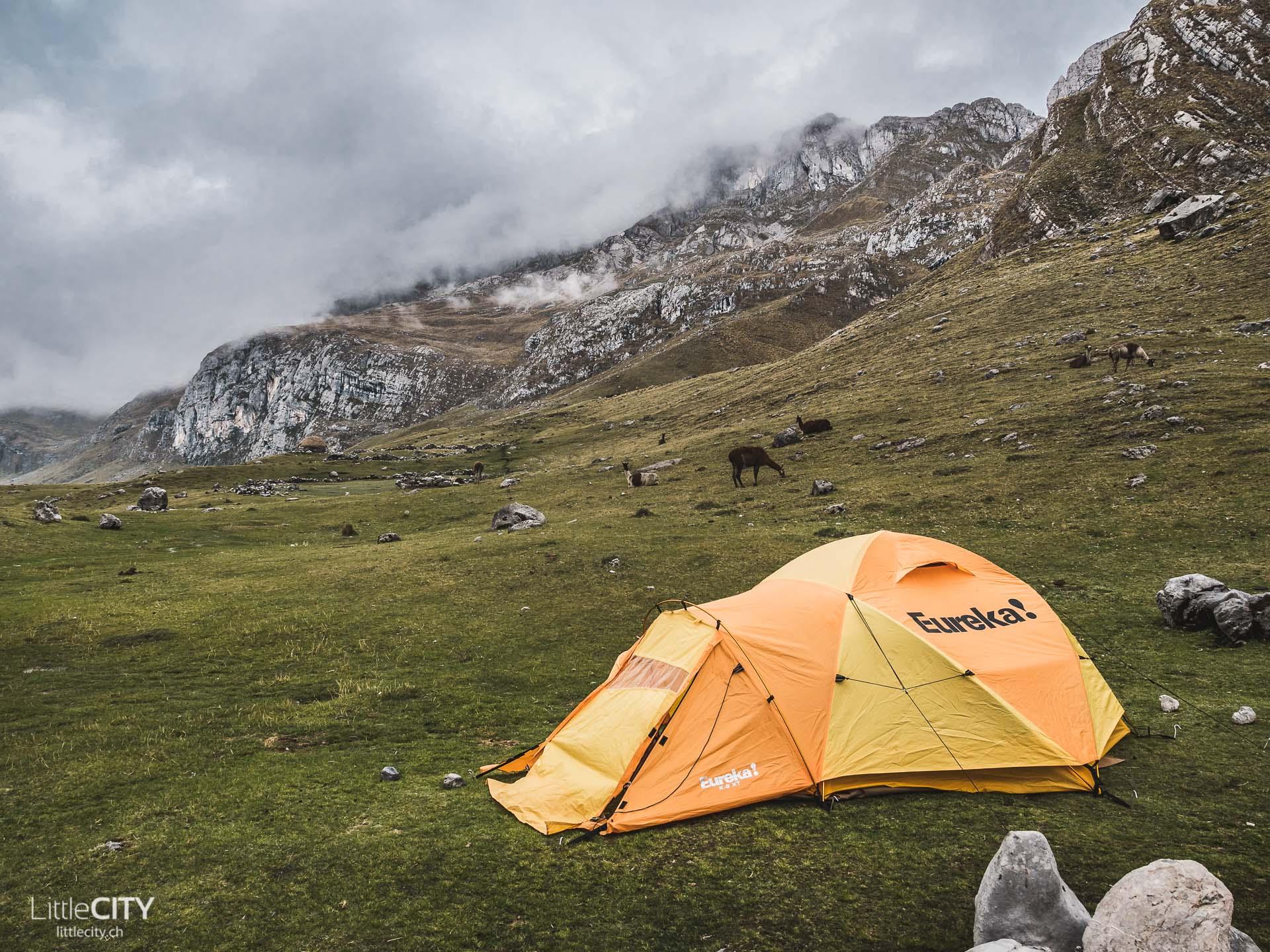 Peru Trecking Cordillera Blanca Camp Rondoy