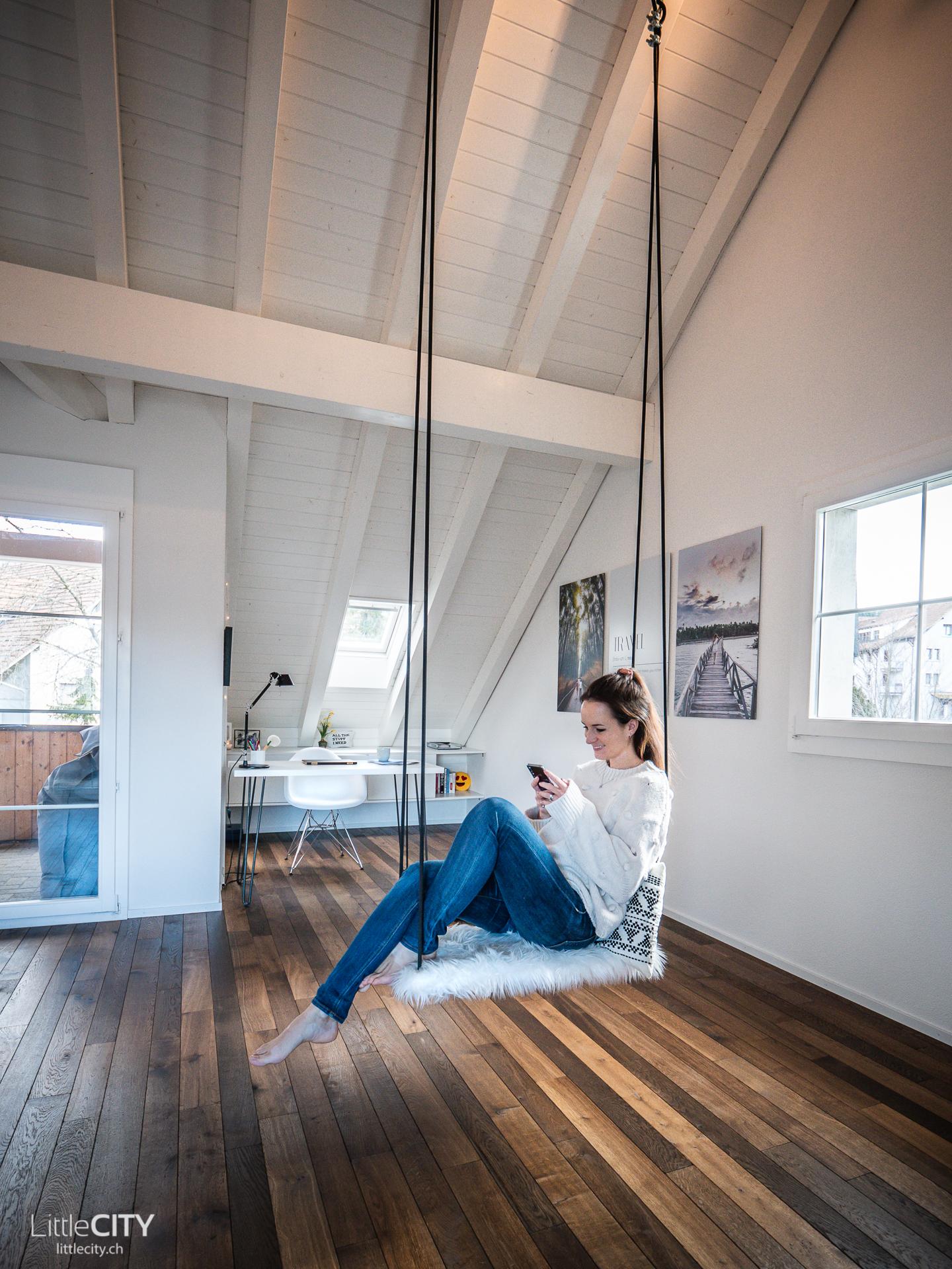 Büro Inspiration Indoor Schaukel für Erwachsene