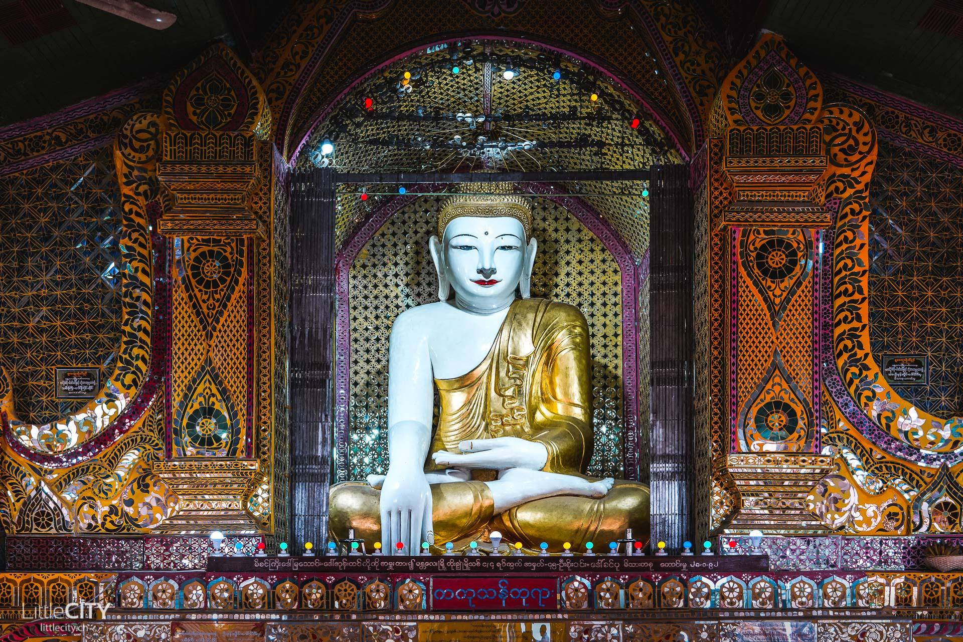 Mandalay Hill Mandakay Sehenswürdigkeiten Buddha