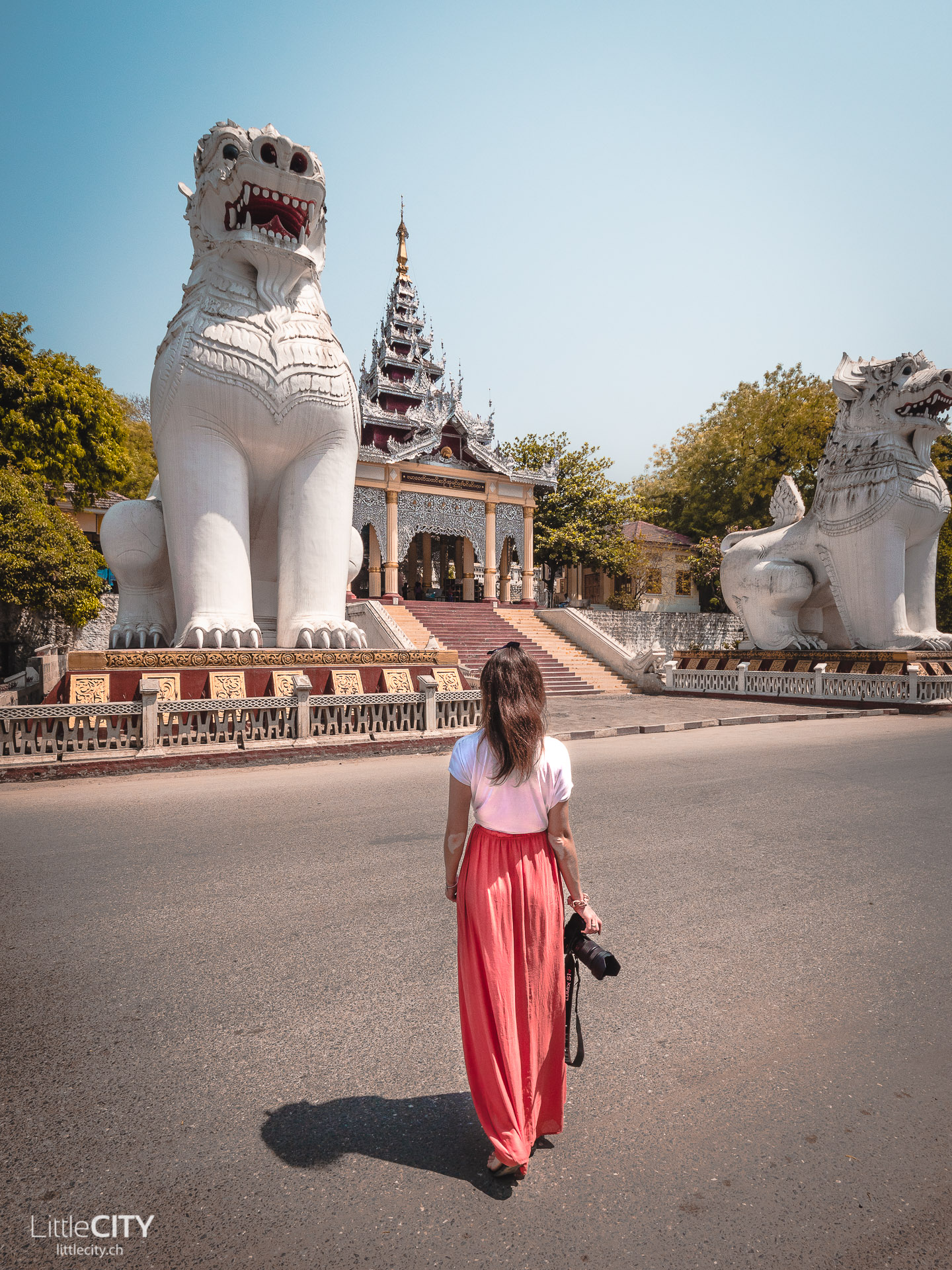 Mandalay Hill Treppe