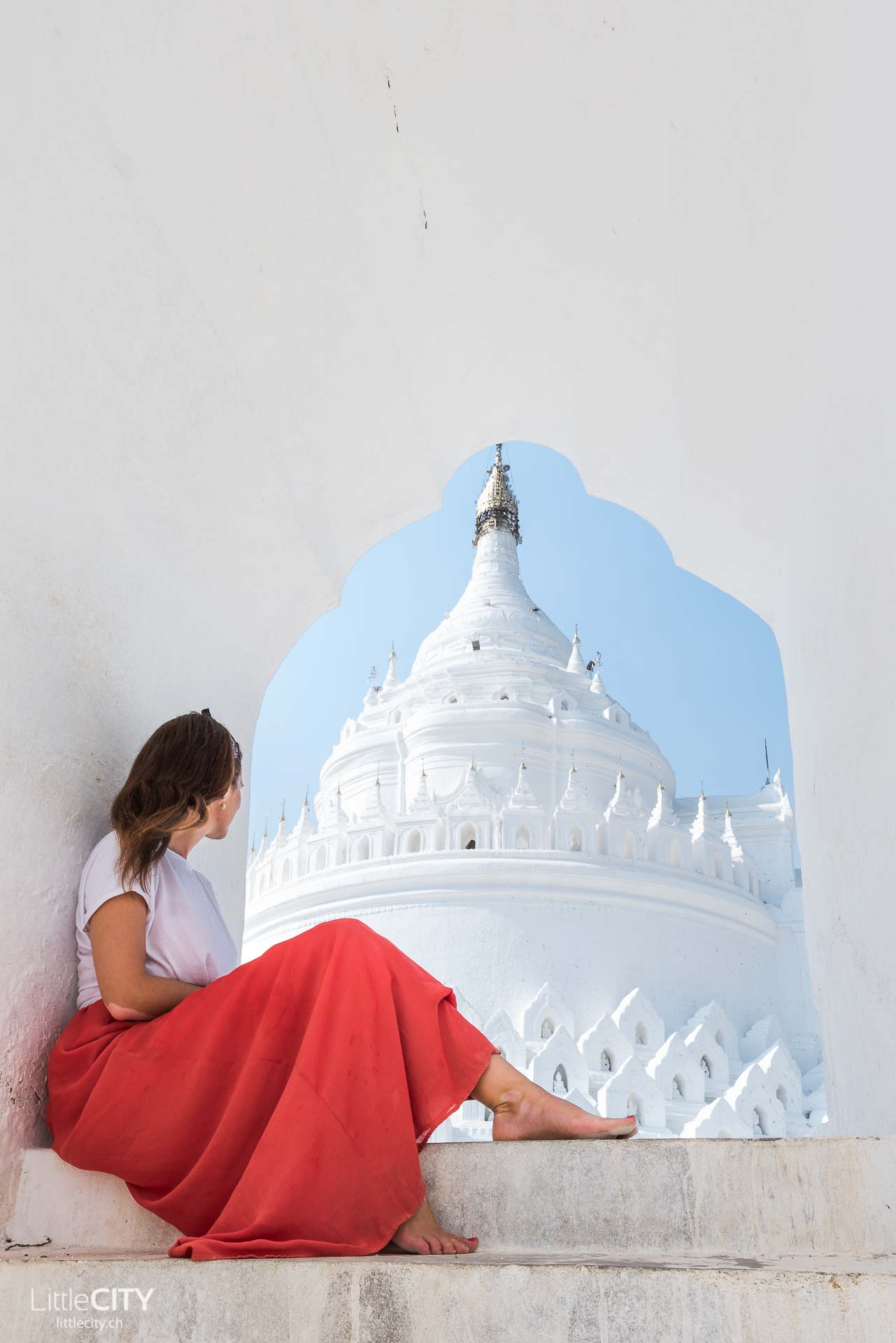 Hisbyume Pagode Mingun Mandalay