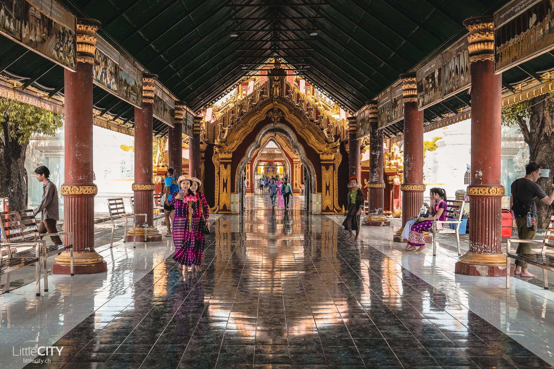 Kuthodaw Pagoda Mandalay Sehenswürdigkeiten