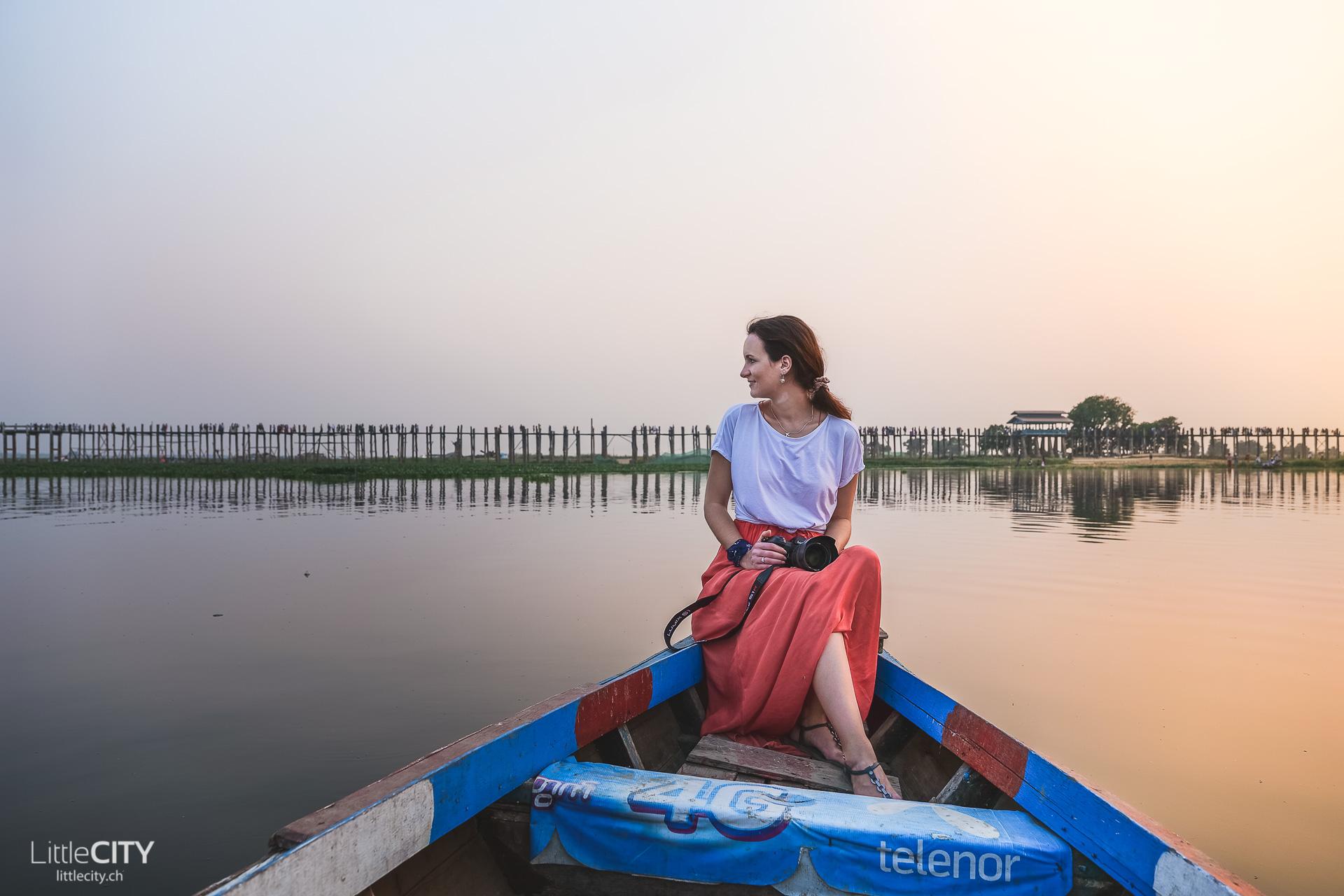 U Bein Brücke Mandalay Myanmar