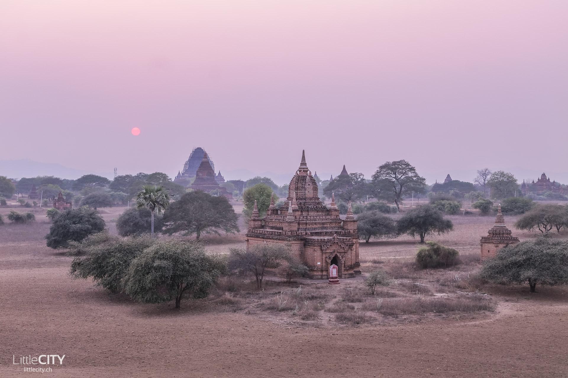 Bagan Myanmar Sonnenaufgang Reisetipps