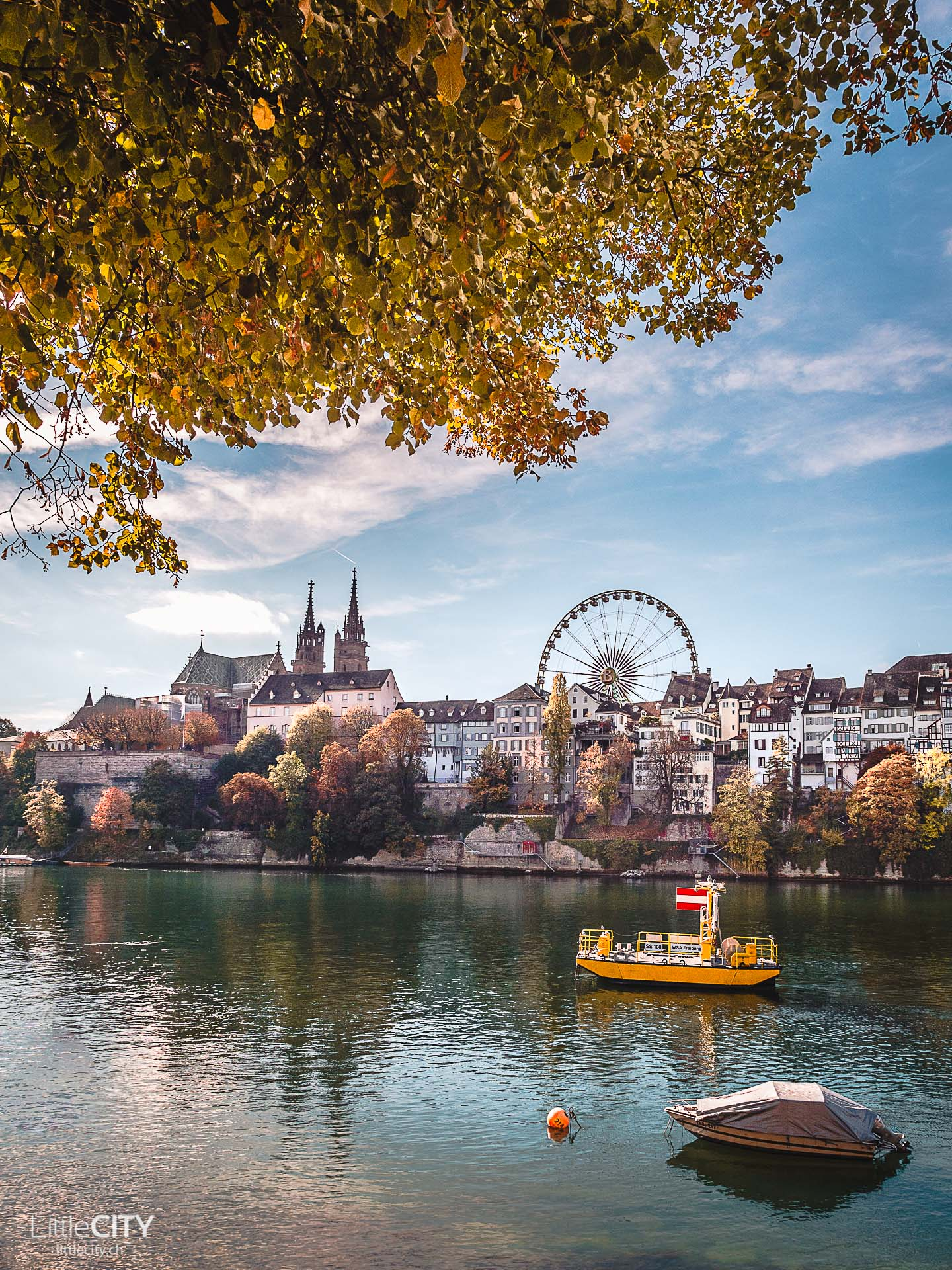 Basel Rhein Sehenswürdigkeiten