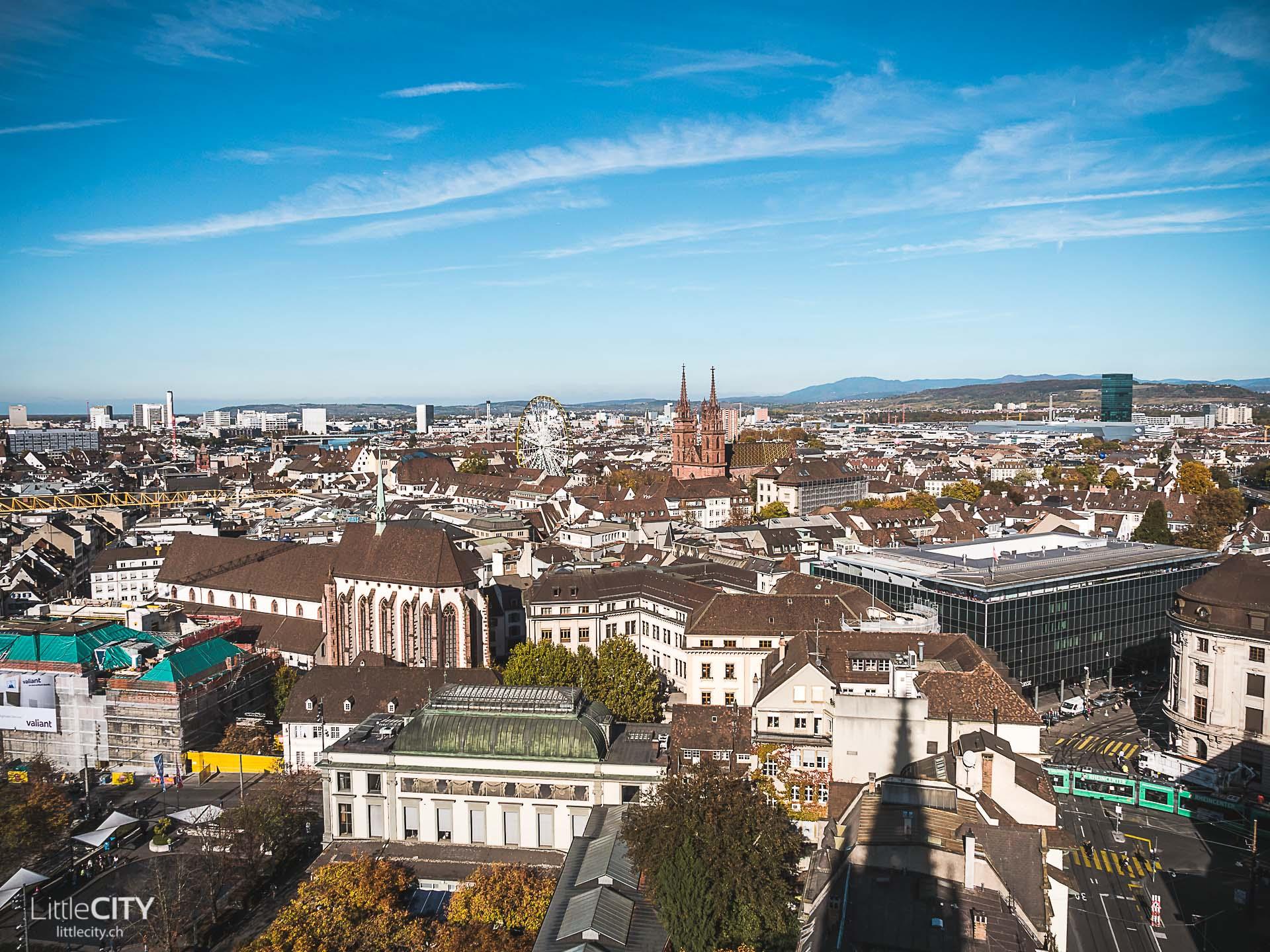 Basel Elisabethen Kirche Sehenswürdigkeiten