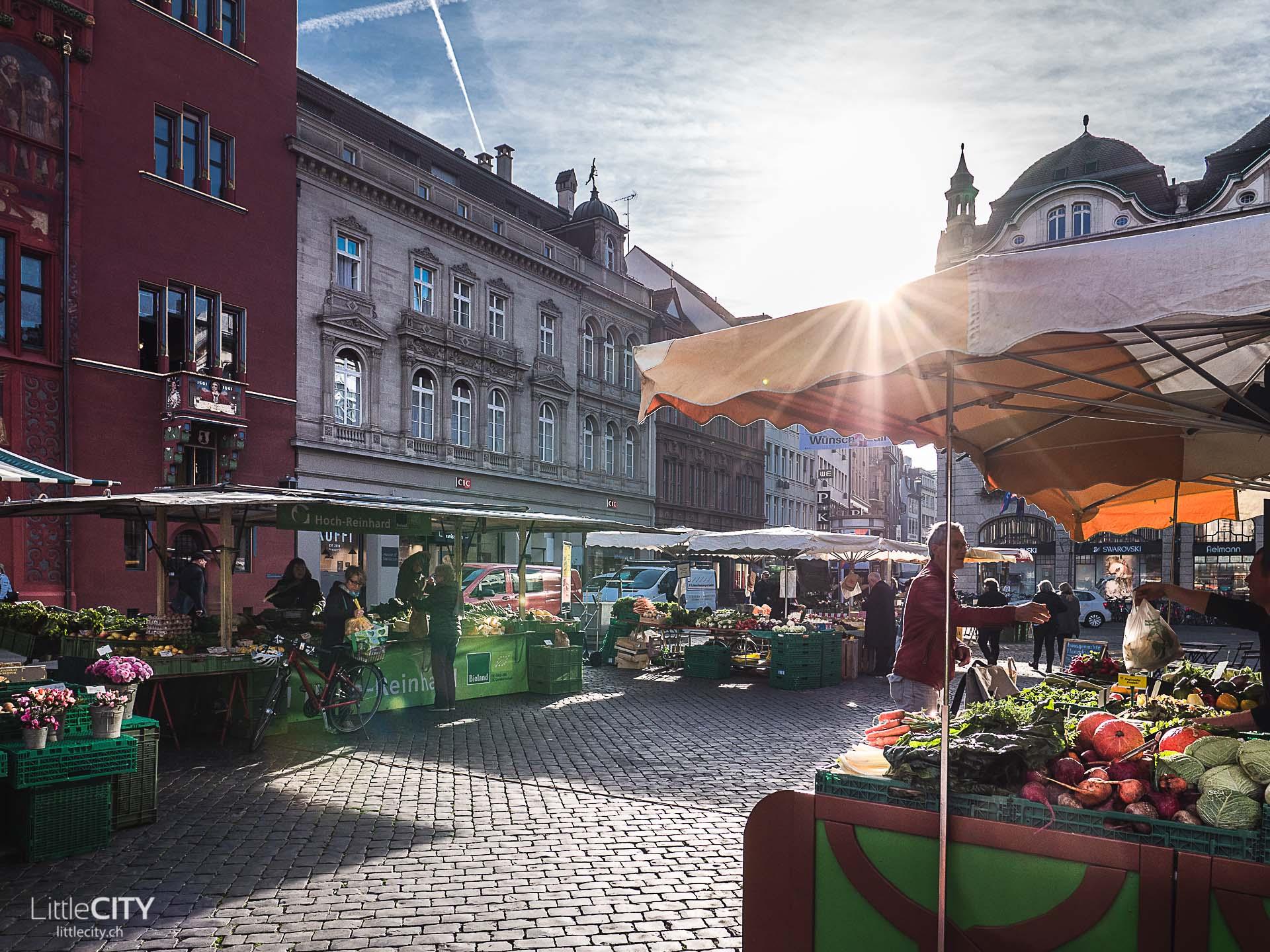 Basel Marktplatz Sehenswürdigkeiten