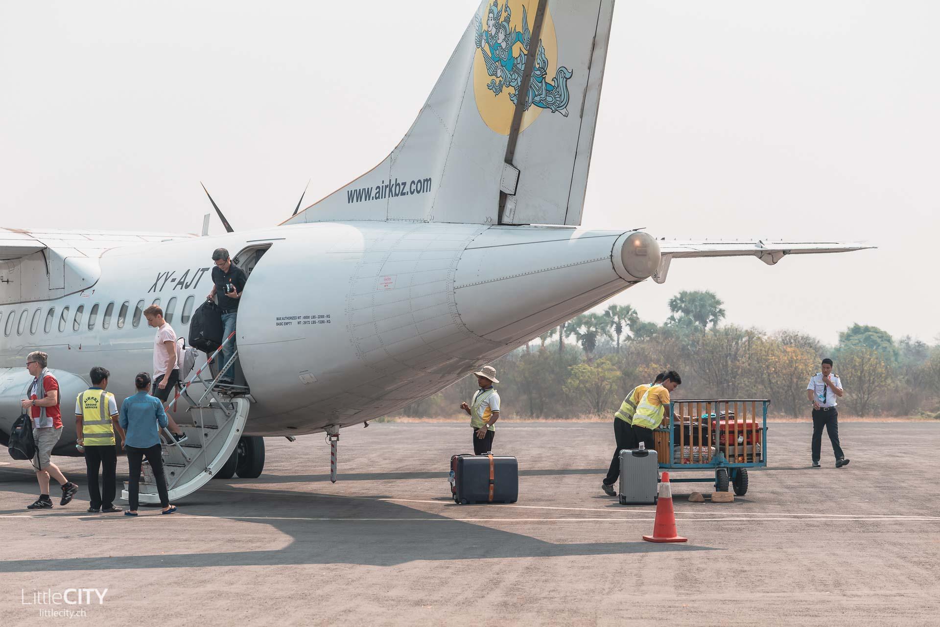 Myanmar Air KBZ Reisetipps