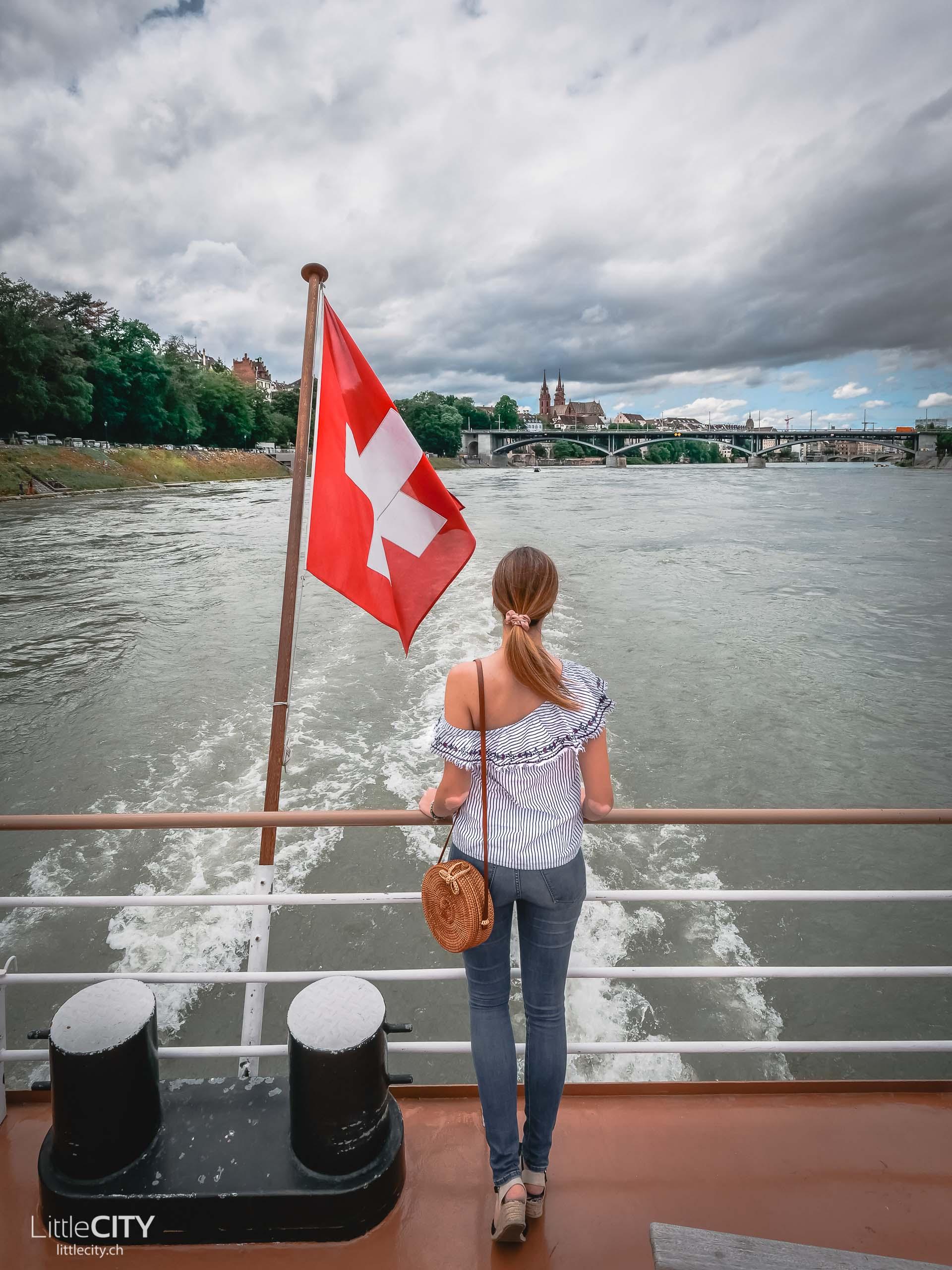 Basel Schleusenfahrt