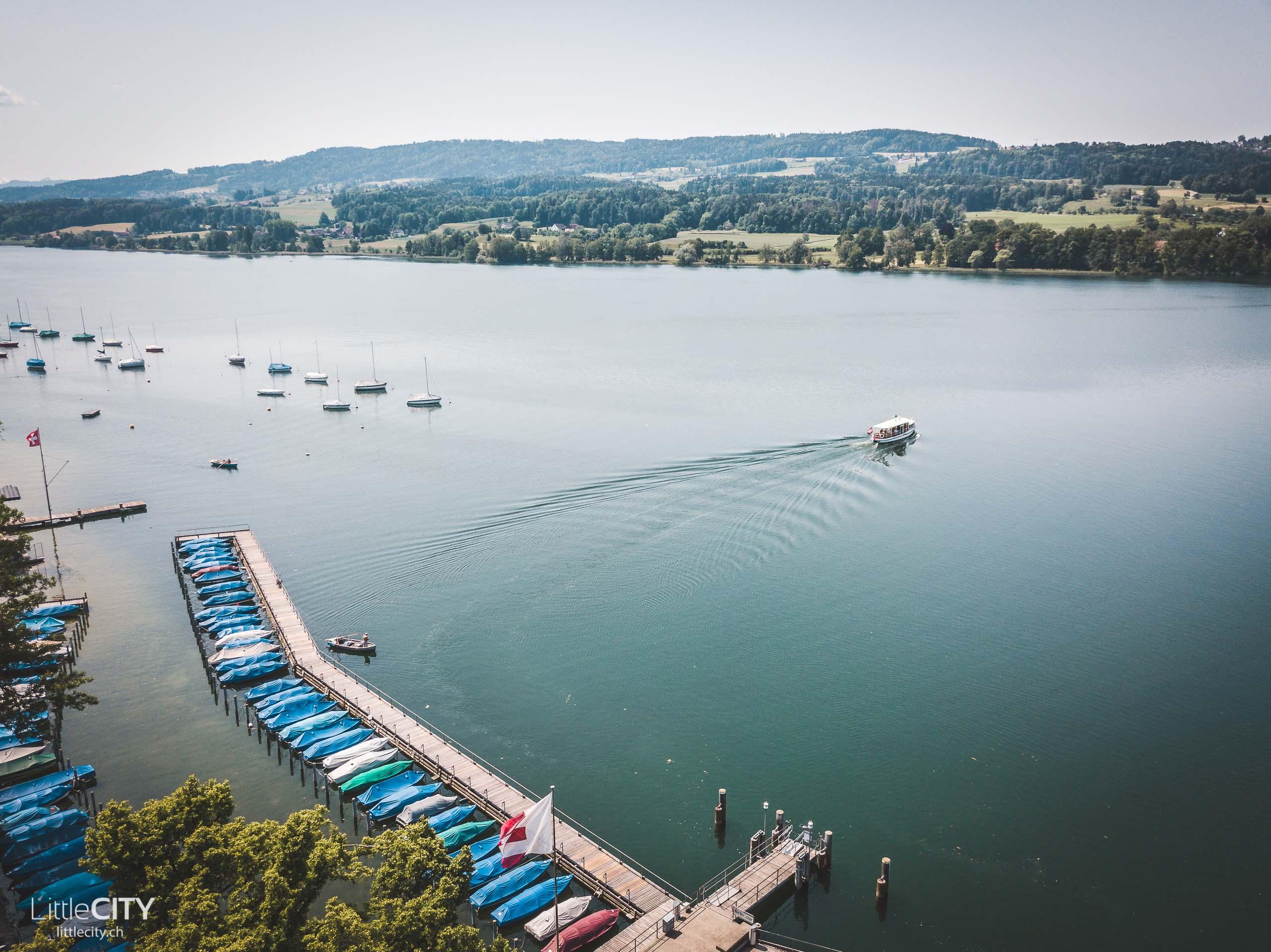 Ausflug See Schweiz Greifensee