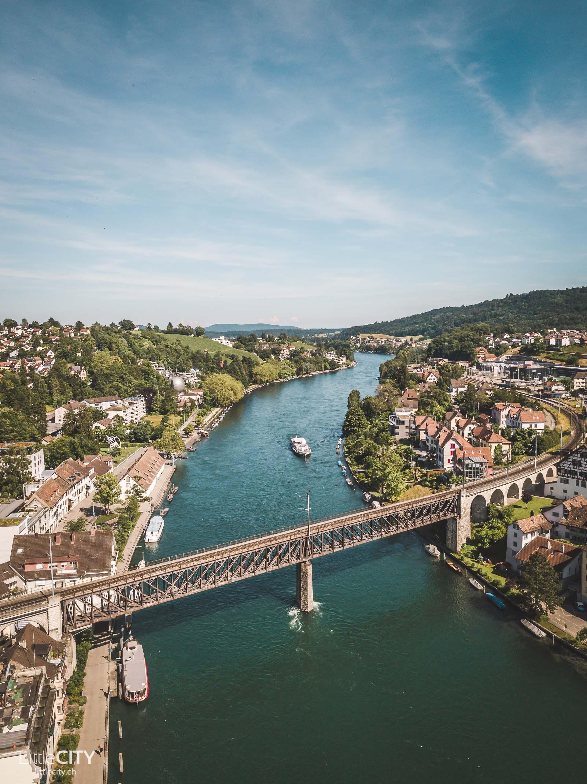 Schifffahrt Rhein Hochrhein Schaffhausen