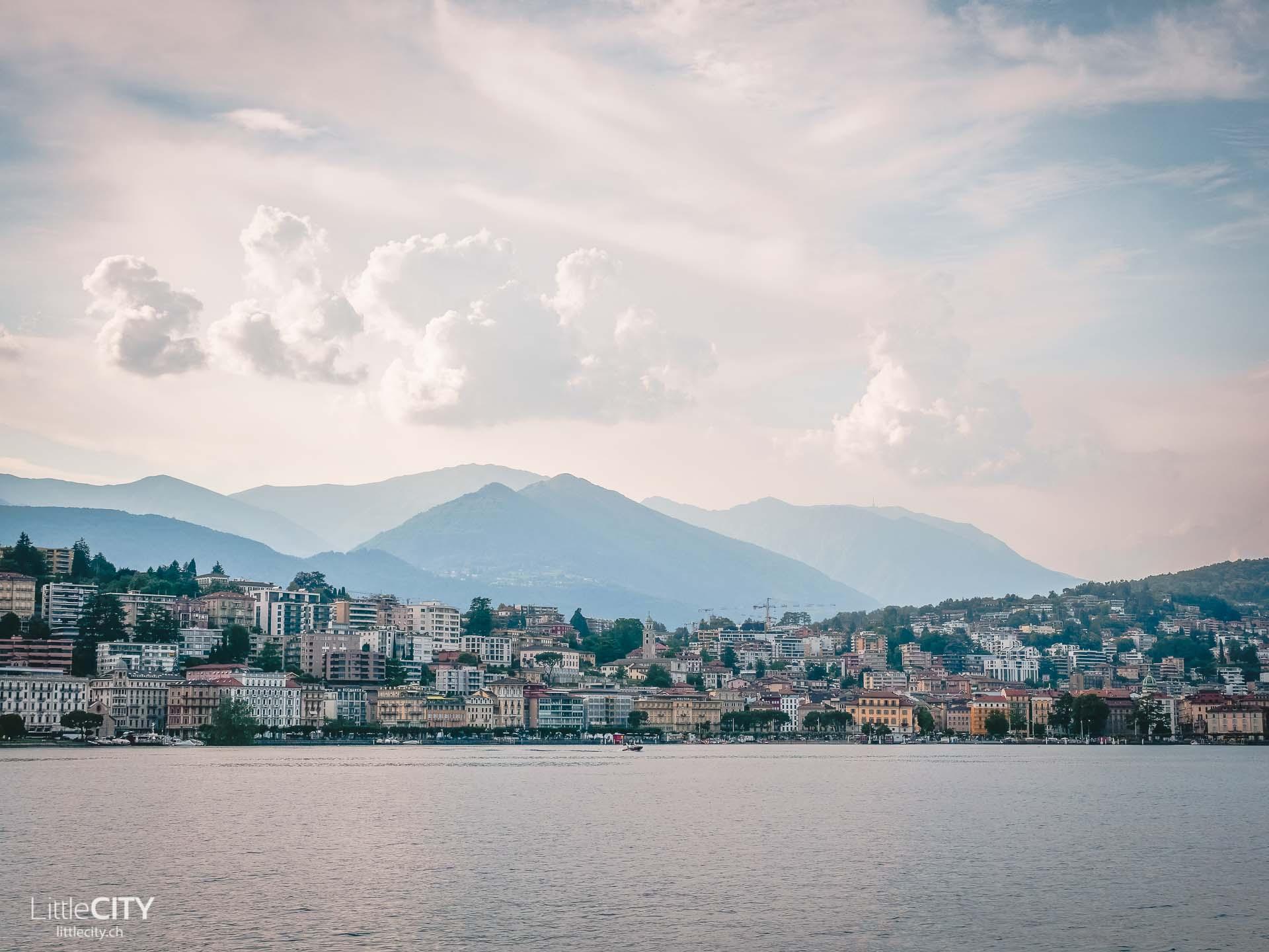 Lugano am Luganersee Sehenswürdigkeiten