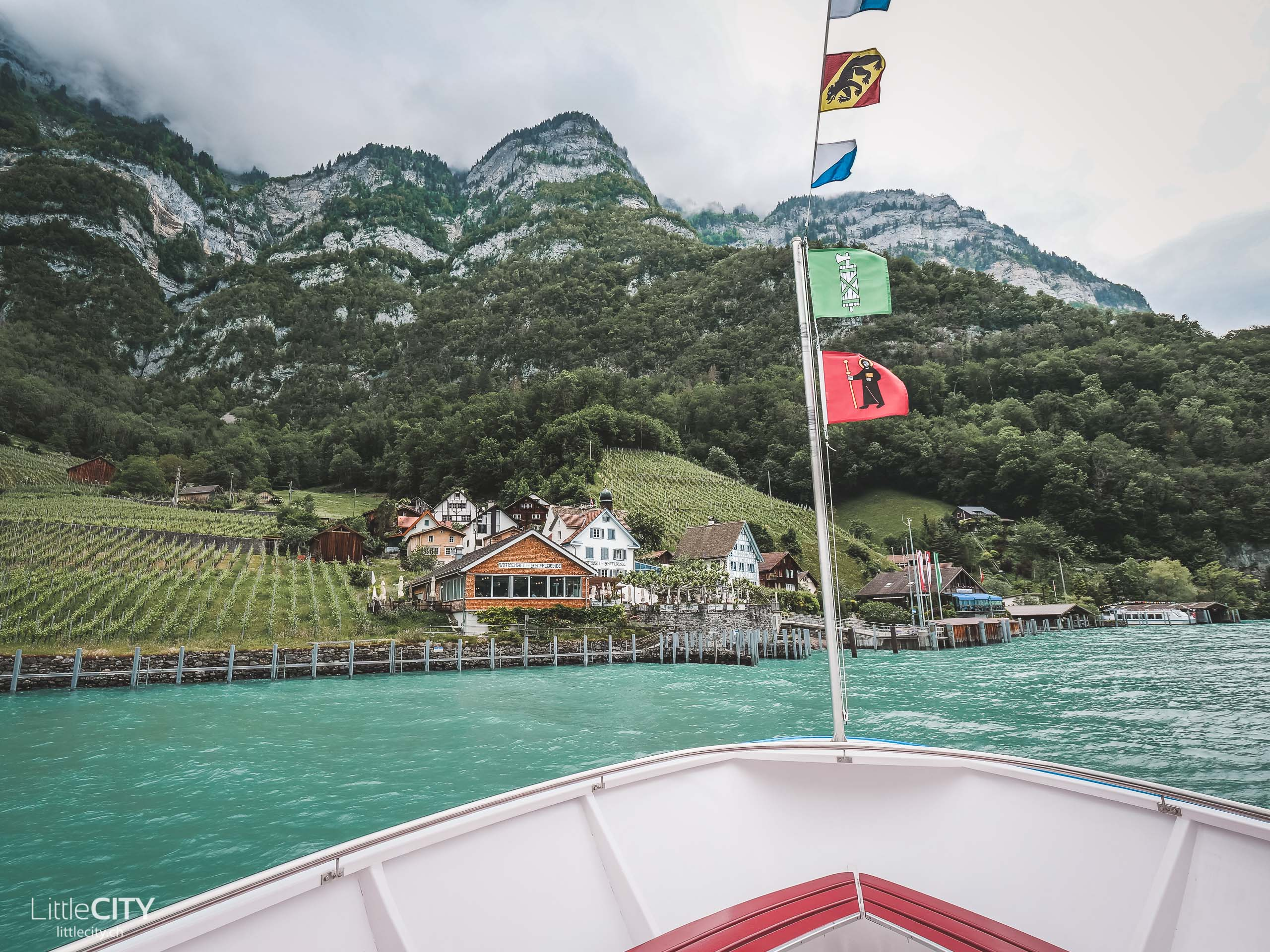 Quinten Walensee Schifffahrt