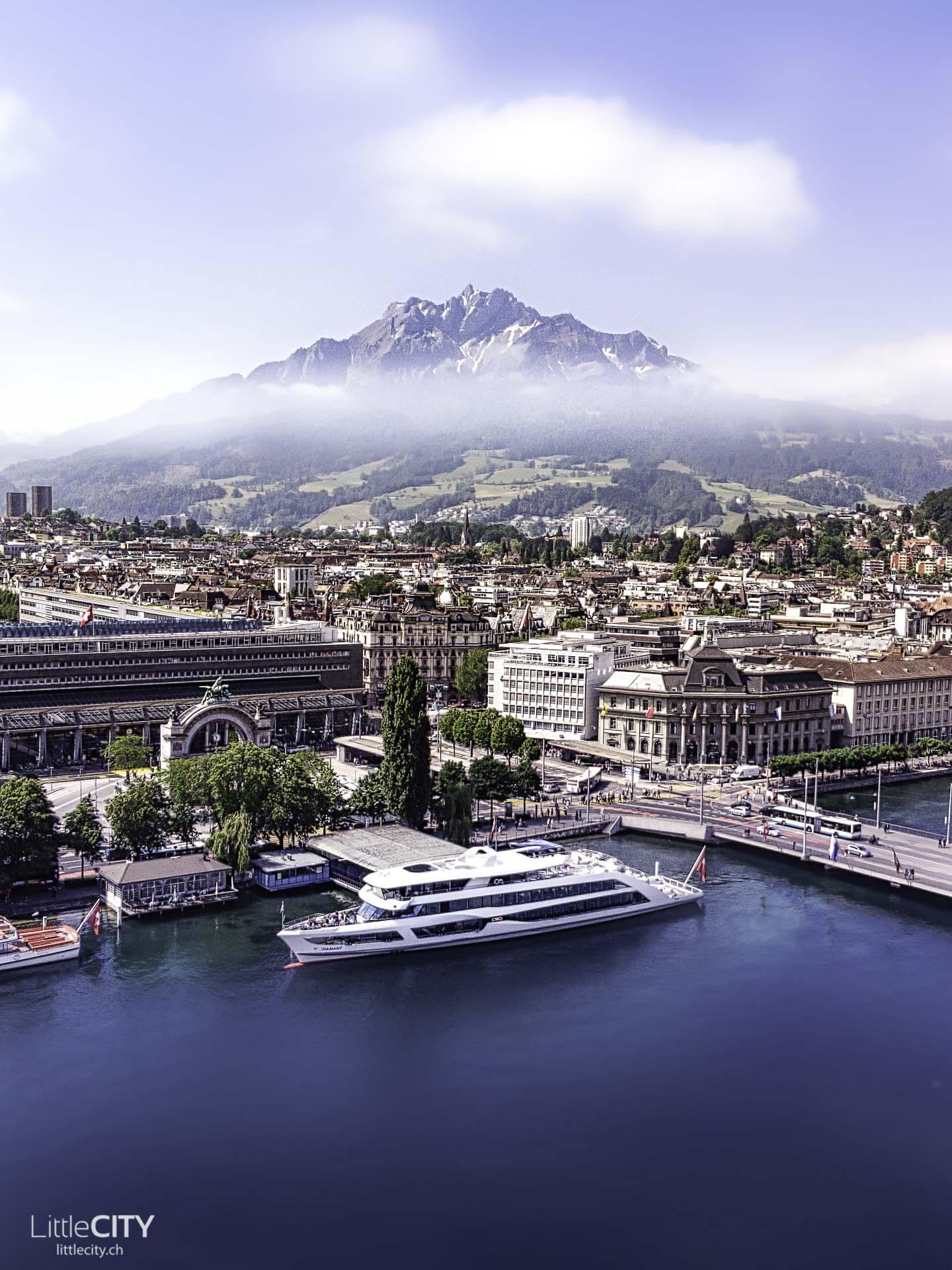 Vierwaldstättersee Luzern MS Diamant Schifffahrt