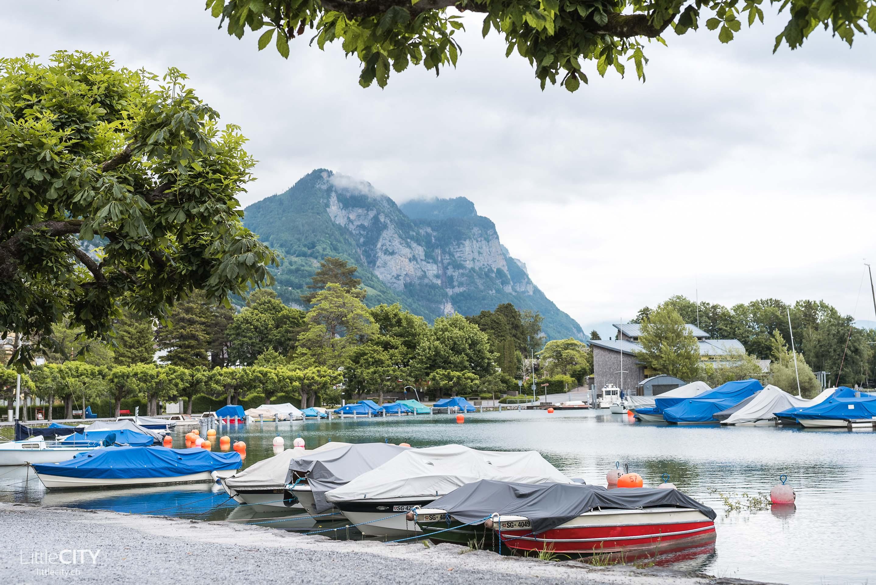 Weesen am Walensee Ausflugstipp Schweiz
