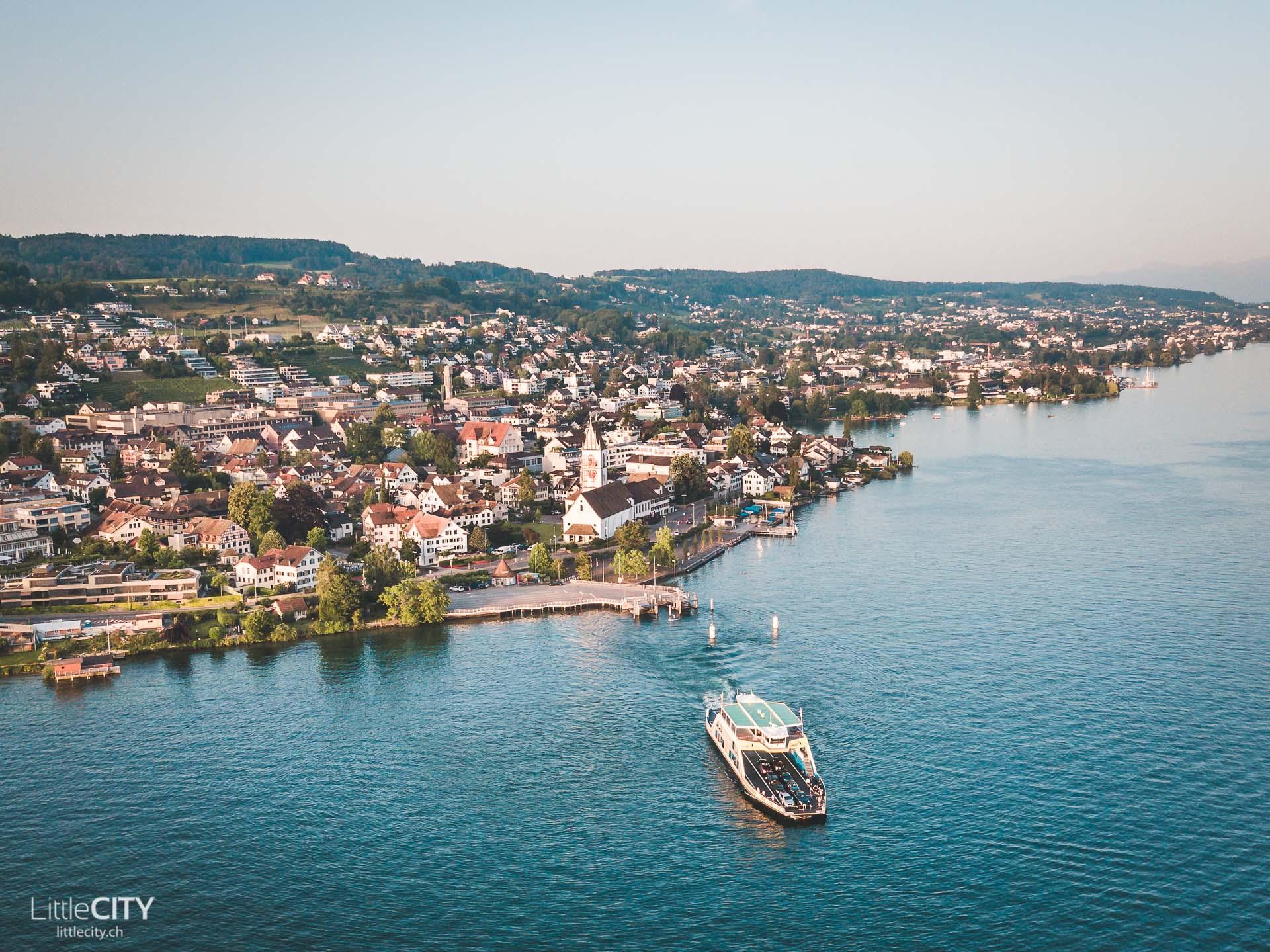 Zürichsee Ausflug See Schweiz Fähre