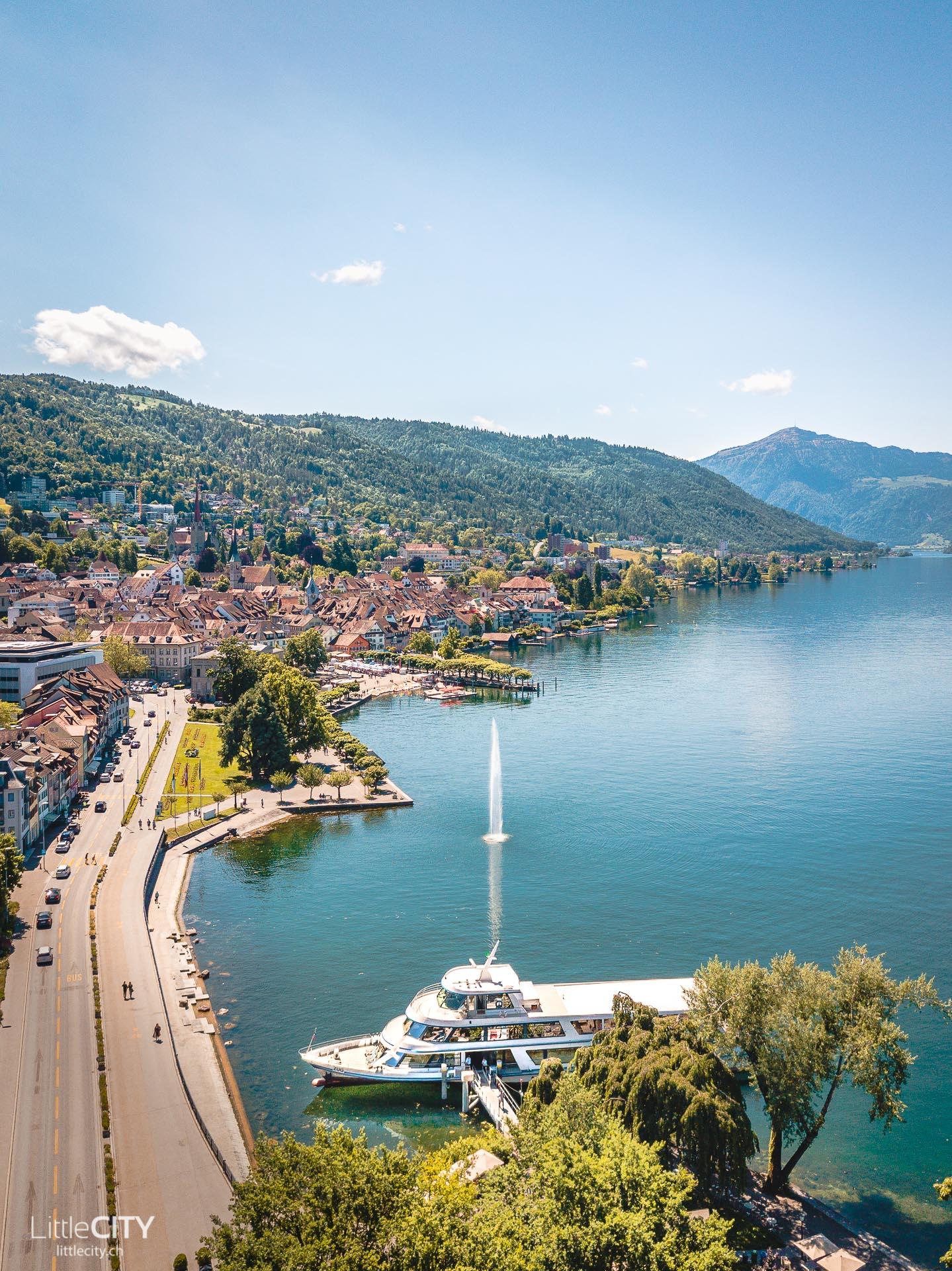 Zugersee Schifffahrt Ausflugstipp Schweiz
