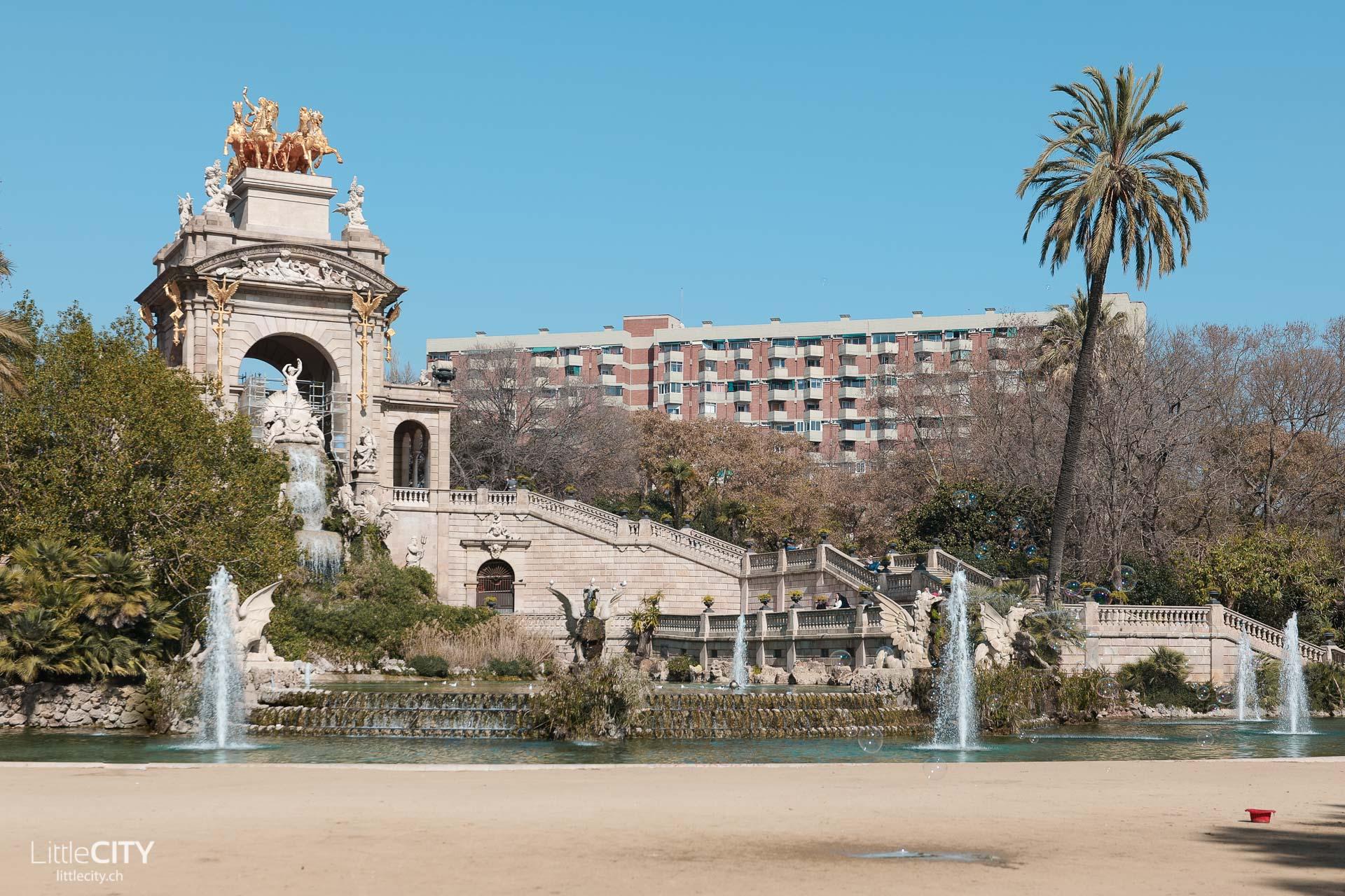 Barcelona Sehenswürdigkeiten Parc de La Ciutadella