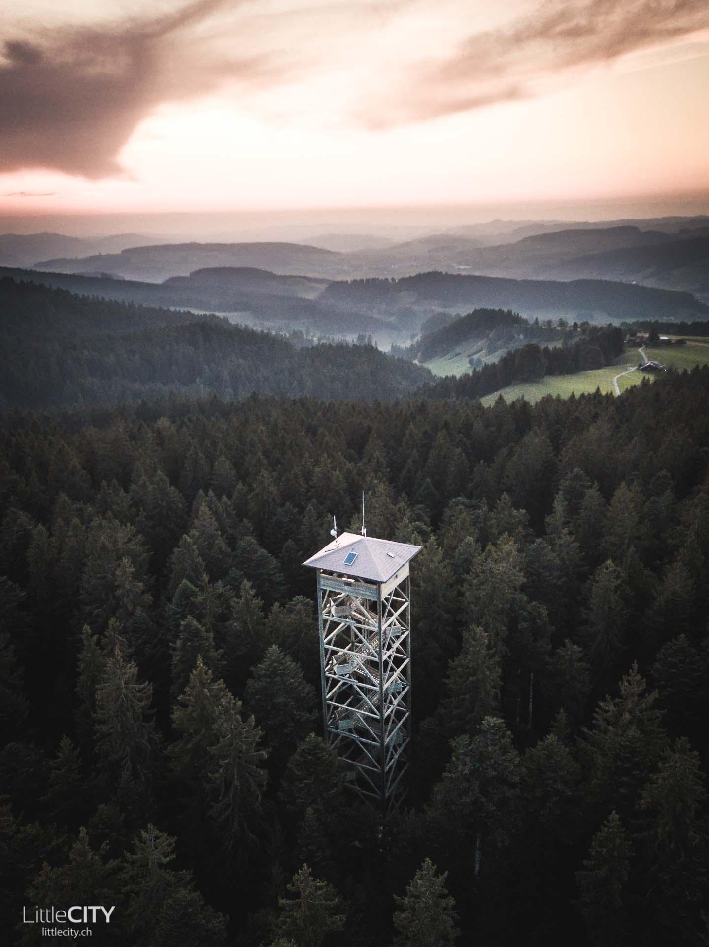 Ausflugsziel Chüderhüsi Aussichtsturm Emmental Sehenswürdigkeiten
