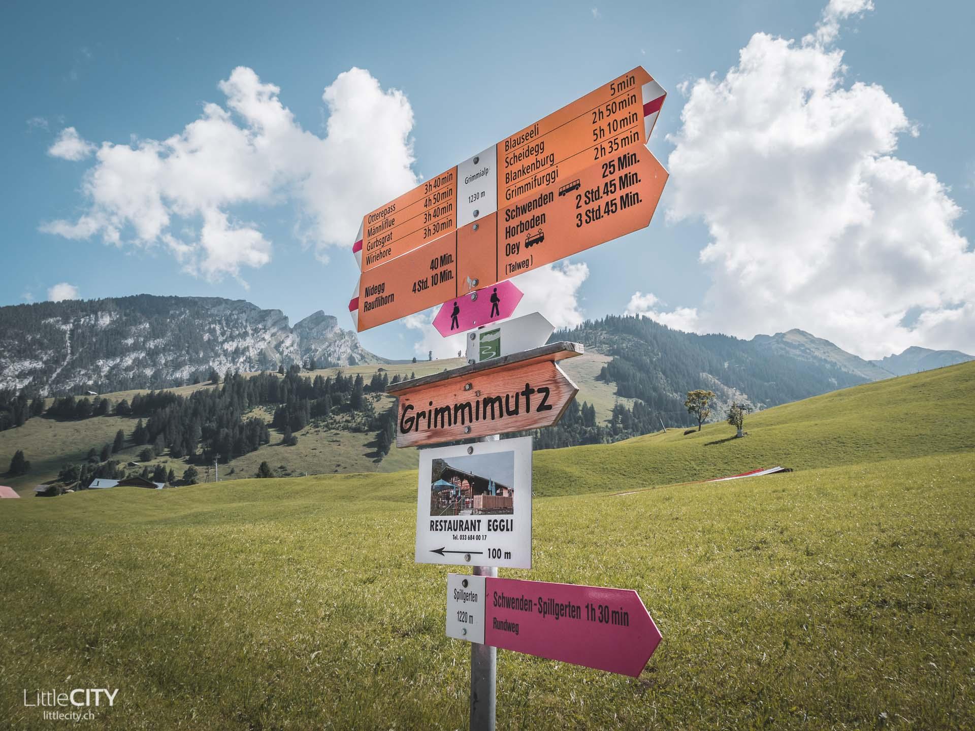 Diemtigtal Talwanderung Grimmialp Schwende
