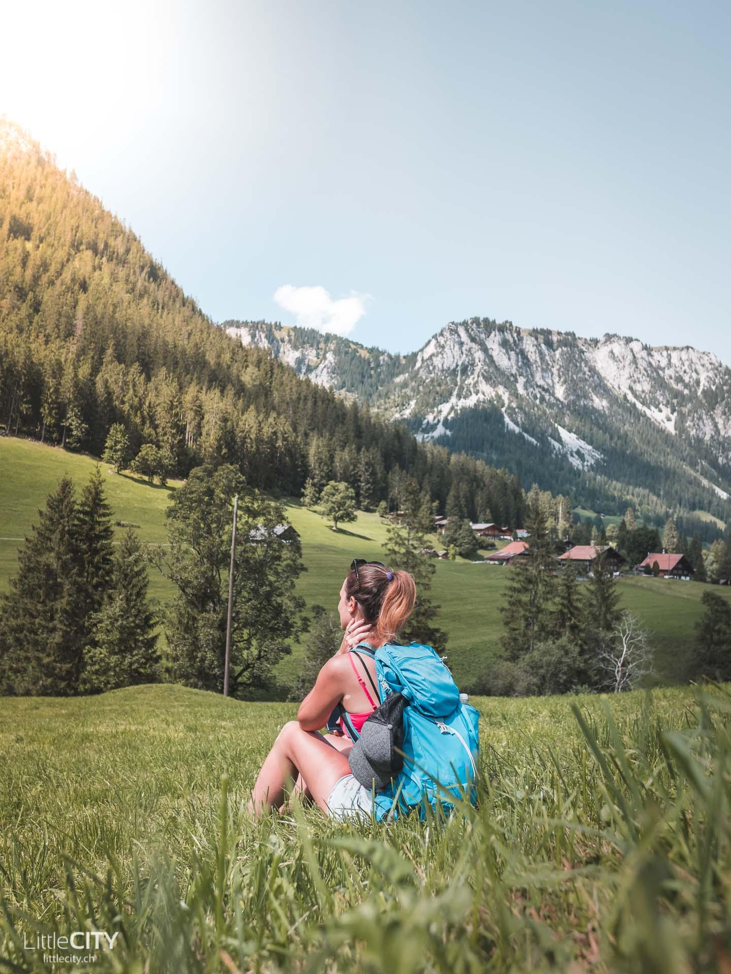 Diemtigtal Wanderung Grimmialp Schwende