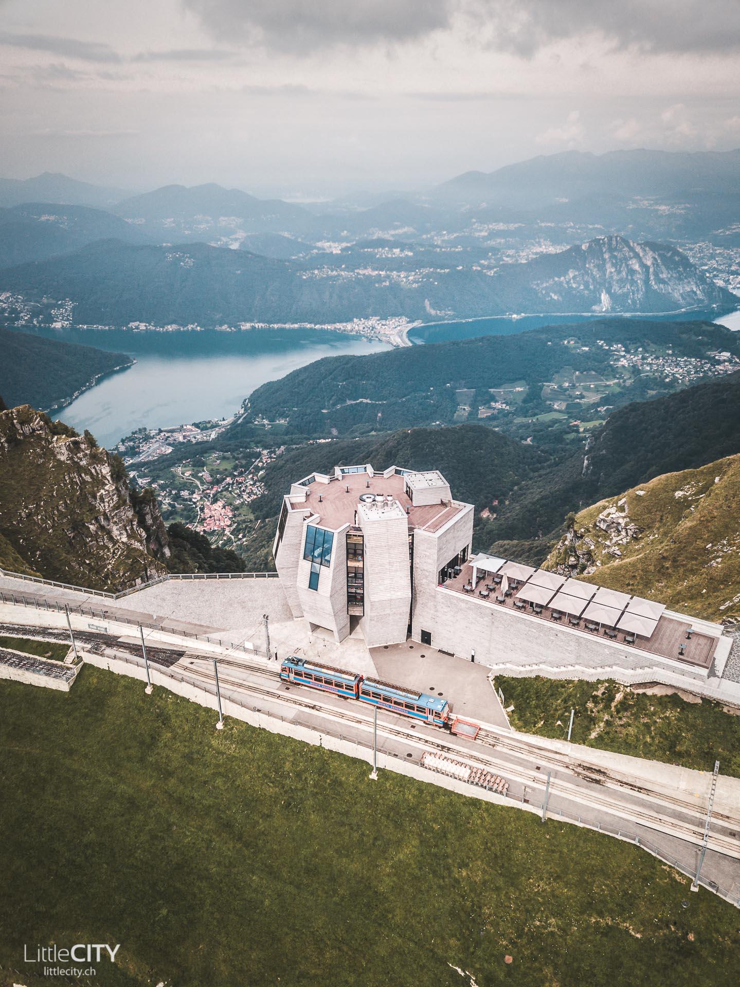 Monte Generoso Fiore di Pietra Mario Botta