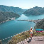Monte San Salvatore Tessin Wanderung