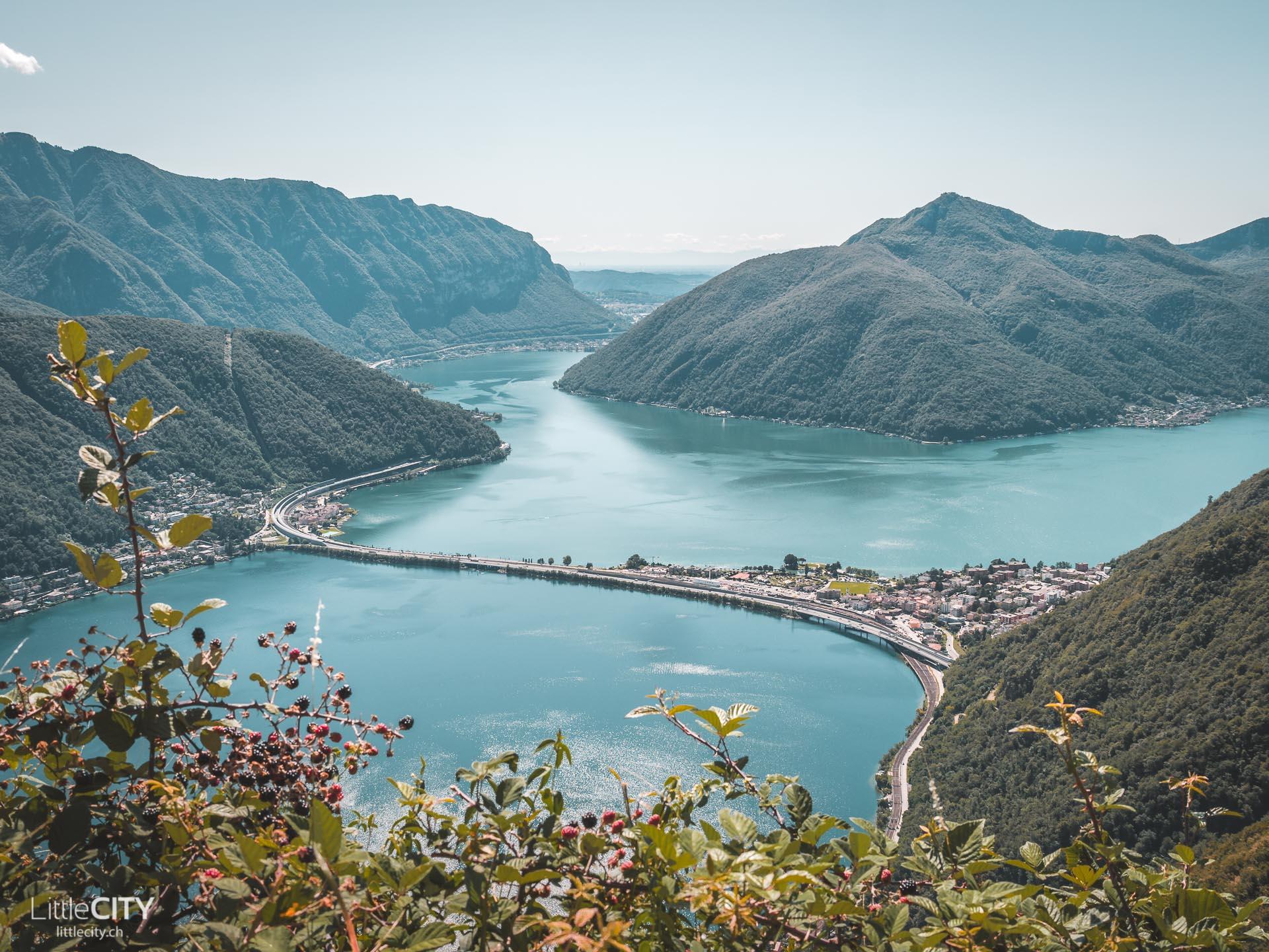 Wanderung San Salvatore nach Carona